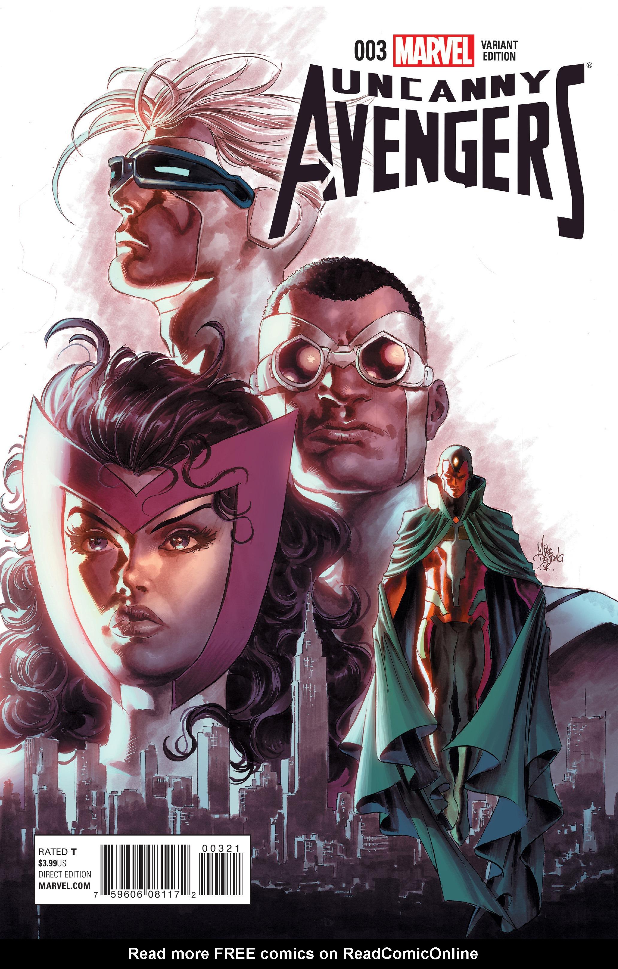 Read online Uncanny Avengers [I] comic -  Issue #3 - 3