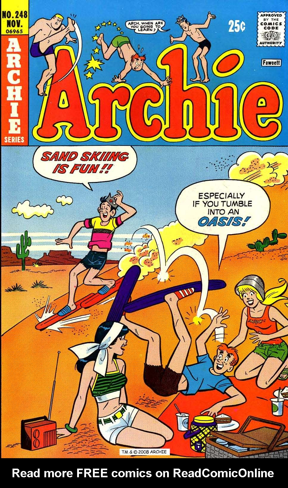 Read online Archie (1960) comic -  Issue #248 - 1