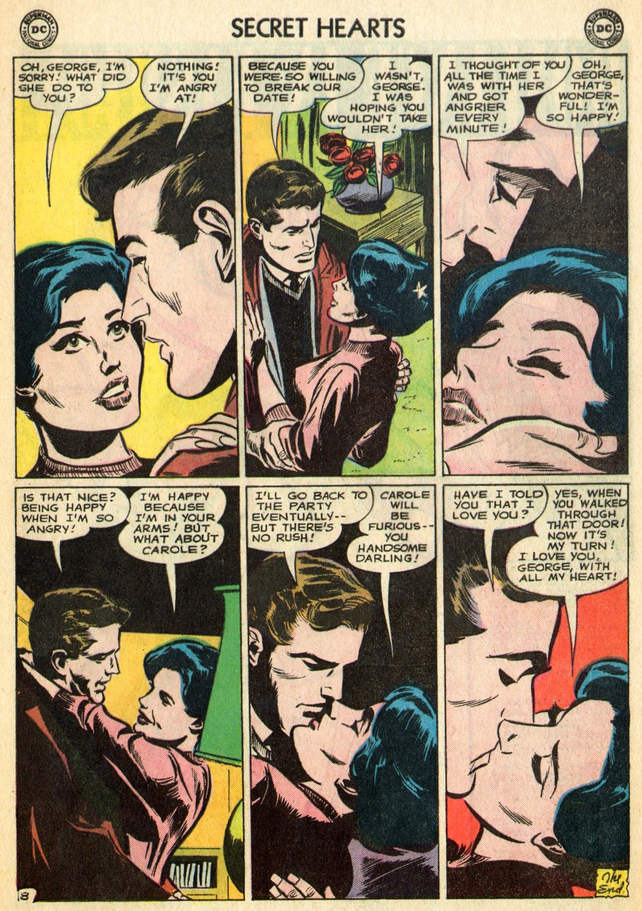 Read online Secret Hearts comic -  Issue #96 - 21