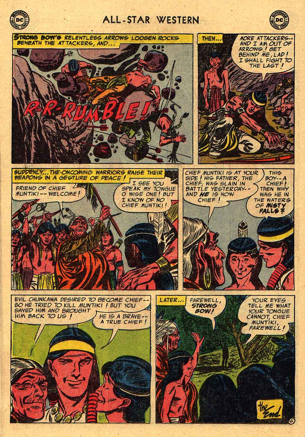 Read online All-Star Western (1951) comic -  Issue #80 - 16