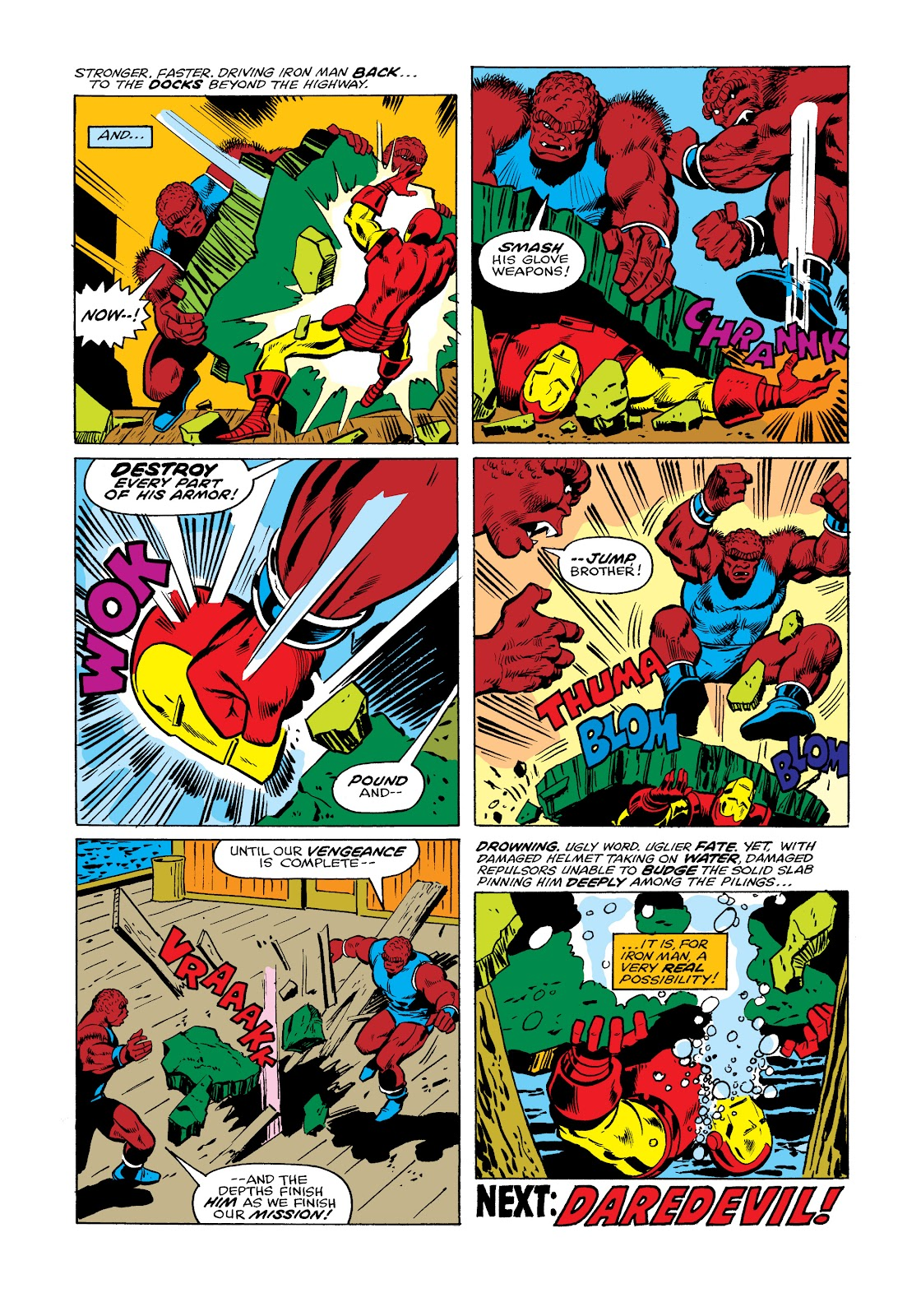Read online Marvel Masterworks: The Invincible Iron Man comic -  Issue # TPB 11 (Part 2) - 74
