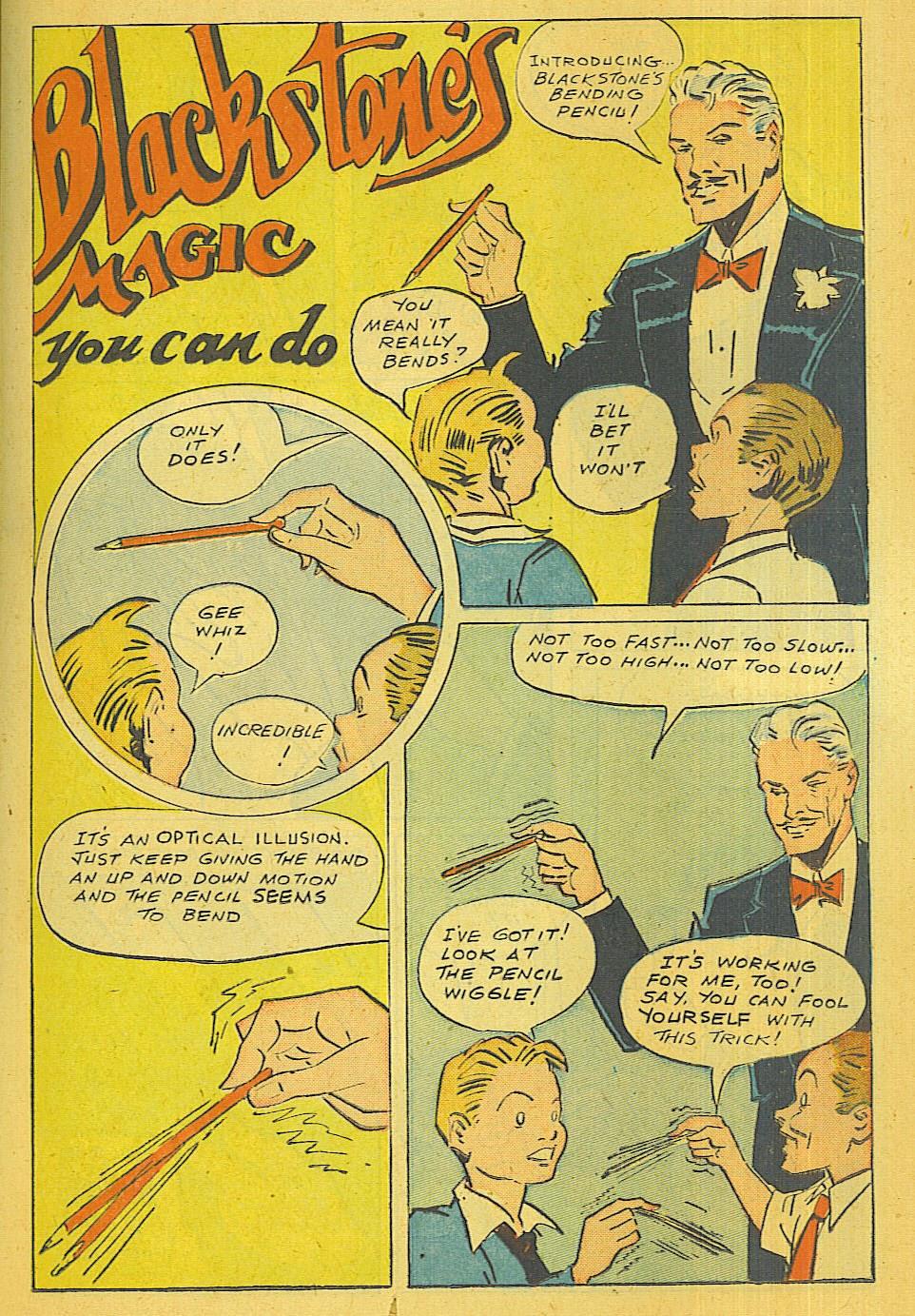 Read online Super-Magician Comics comic -  Issue #39 - 16