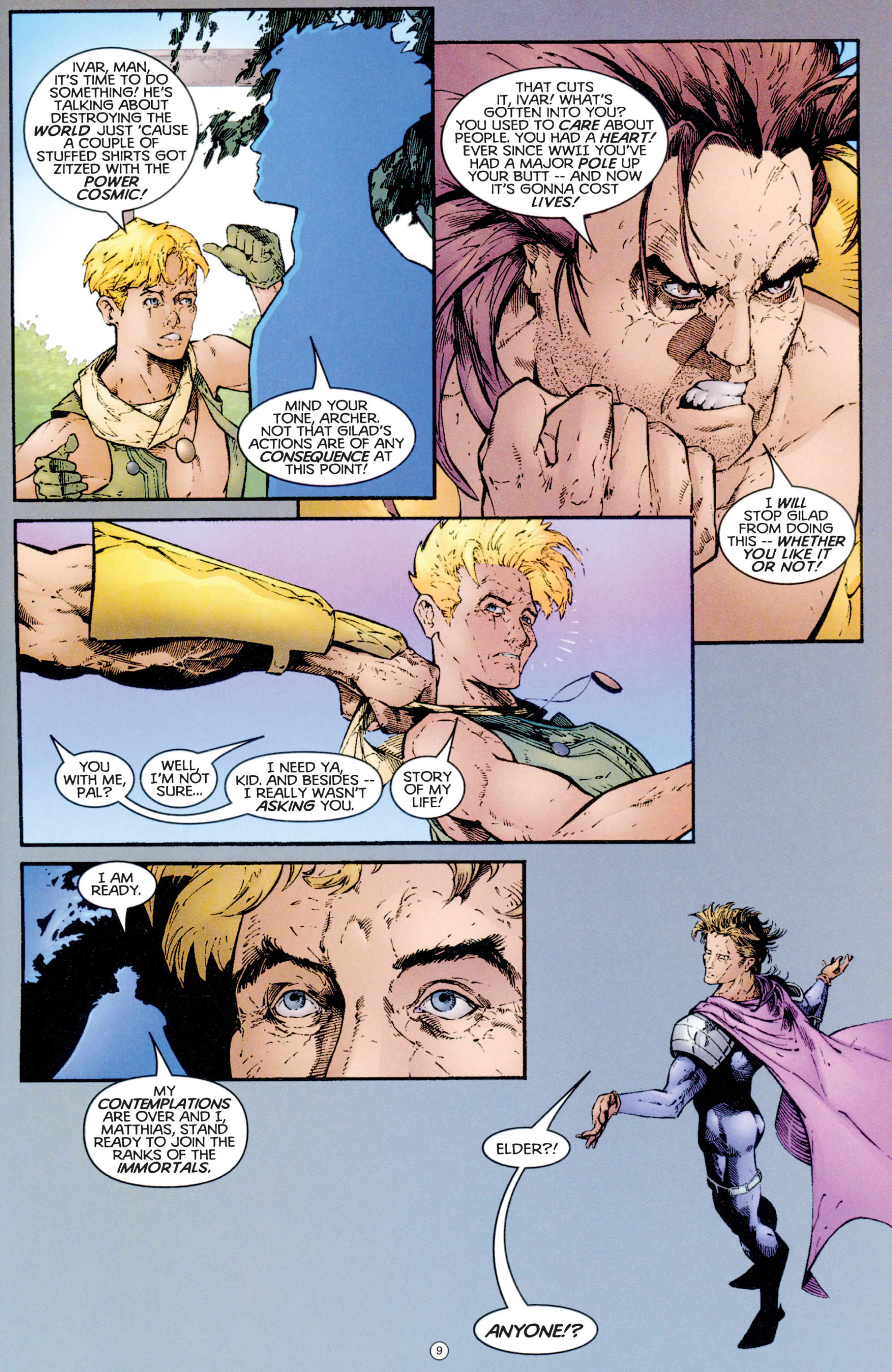 Read online Eternal Warriors comic -  Issue # Issue Archer & Armstrong - 10