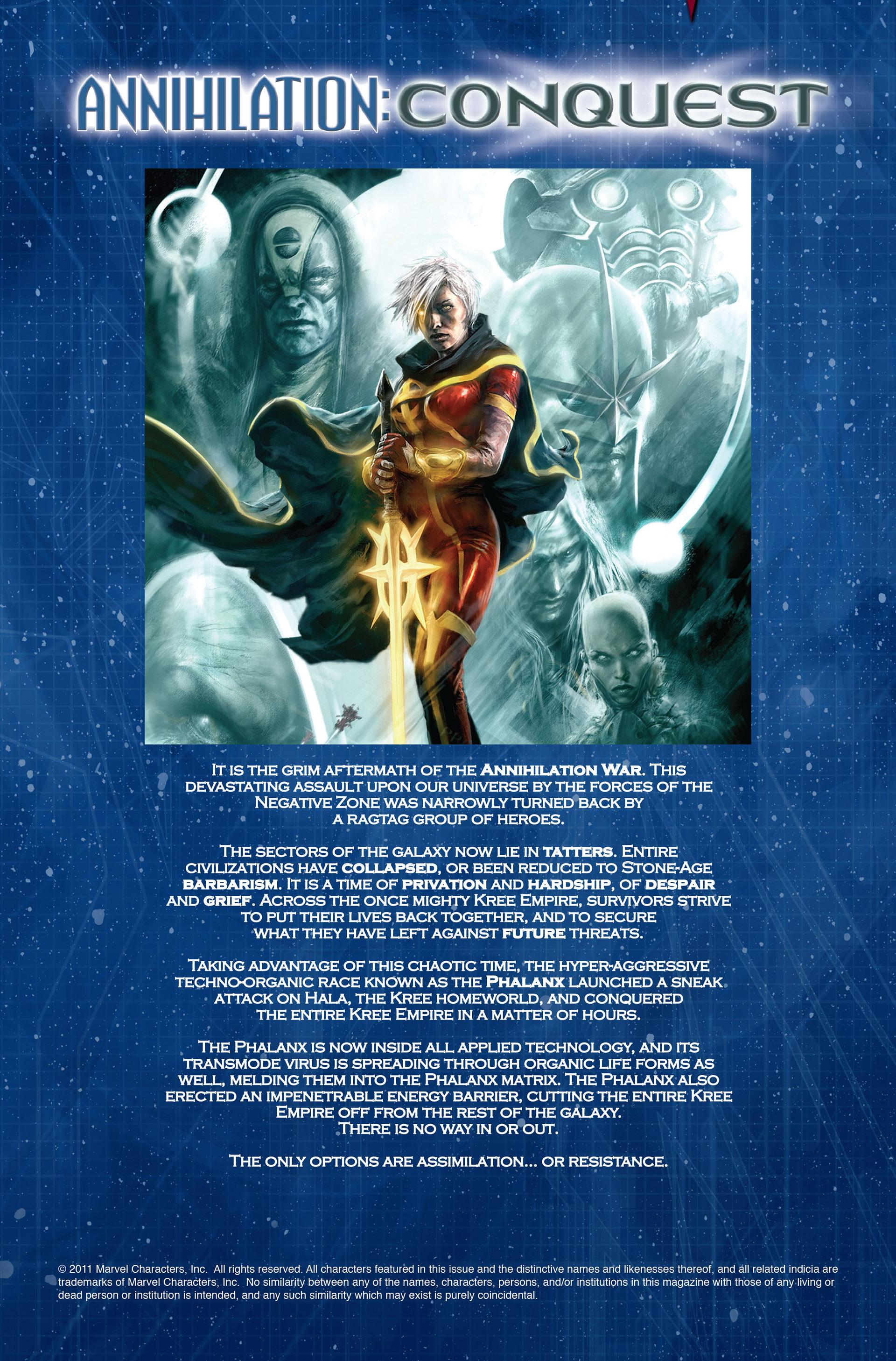 Read online Annihilation: Conquest - Wraith comic -  Issue #1 - 2