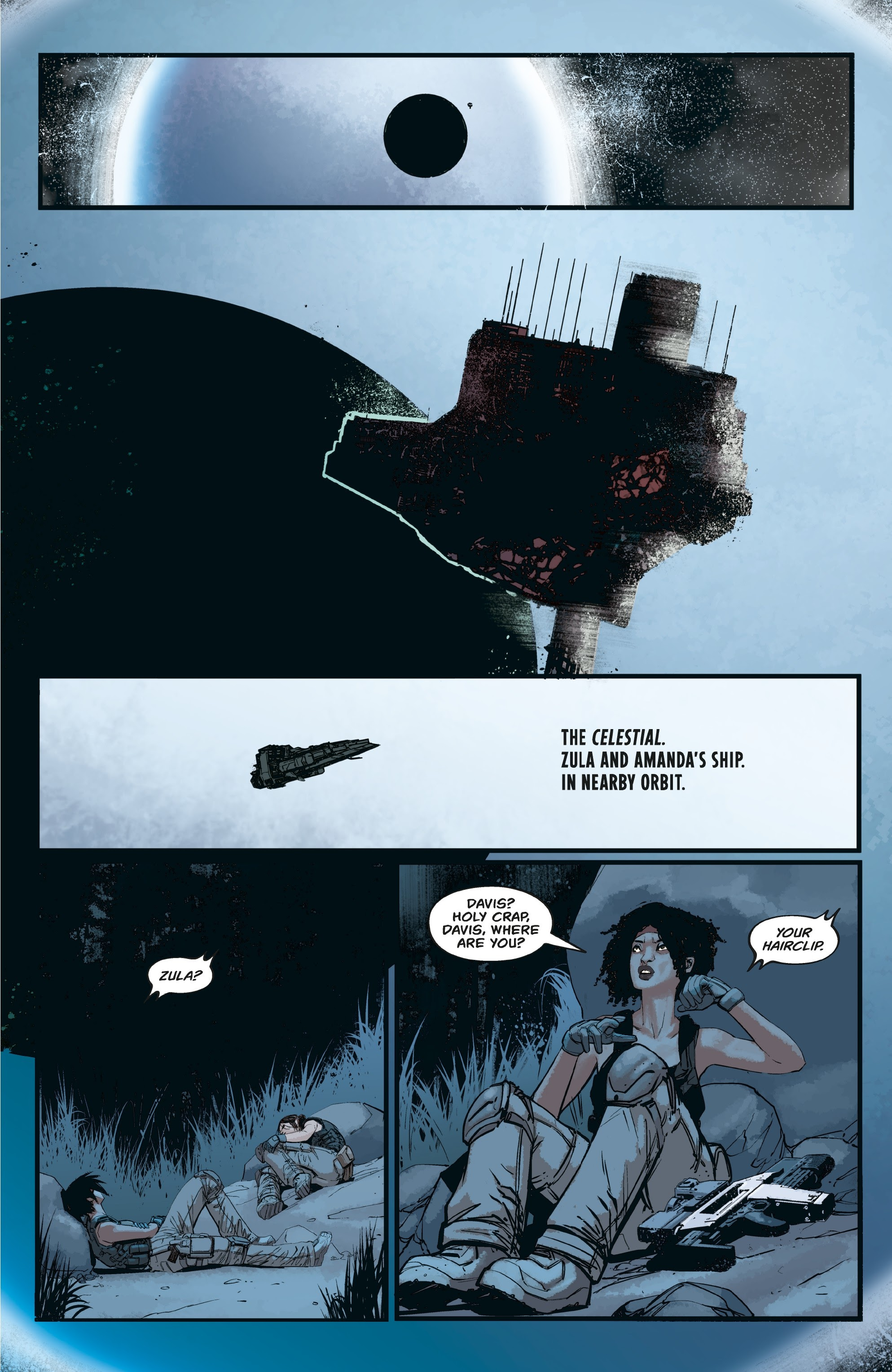 Aliens: Resistance issue 3 - Page 19