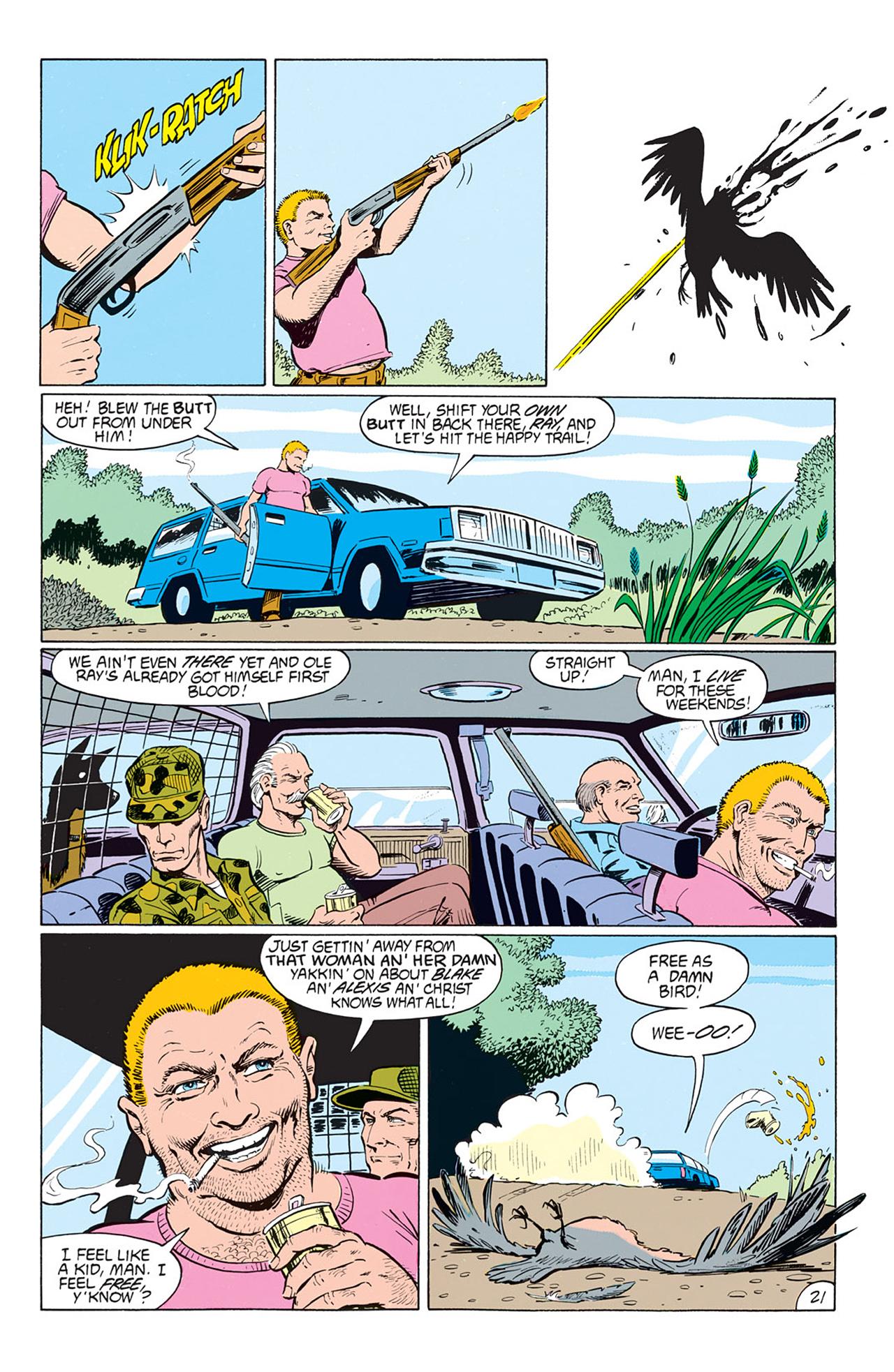 Read online Animal Man (1988) comic -  Issue #1 - 23