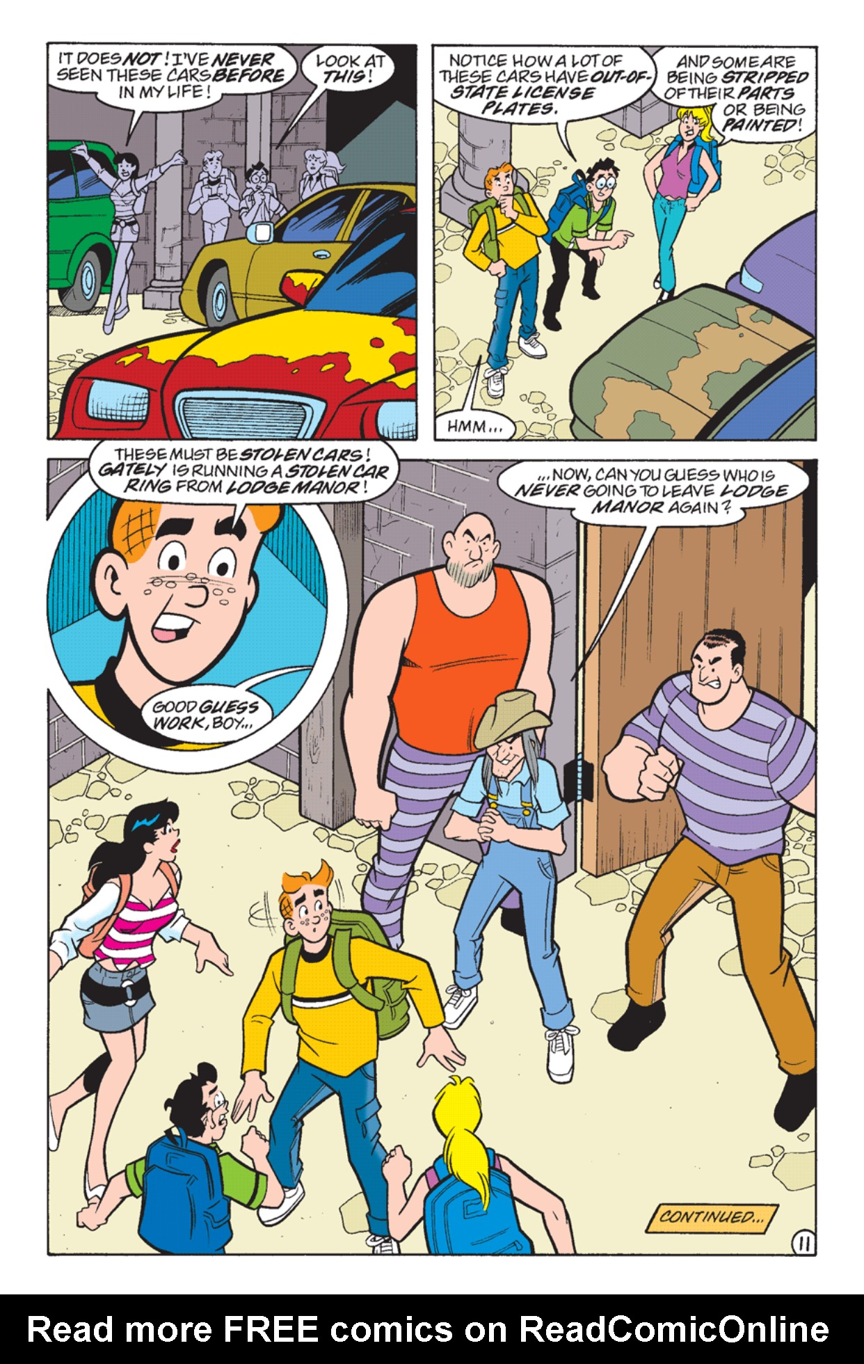 Read online Archie's Weird Mysteries comic -  Issue #24 - 12