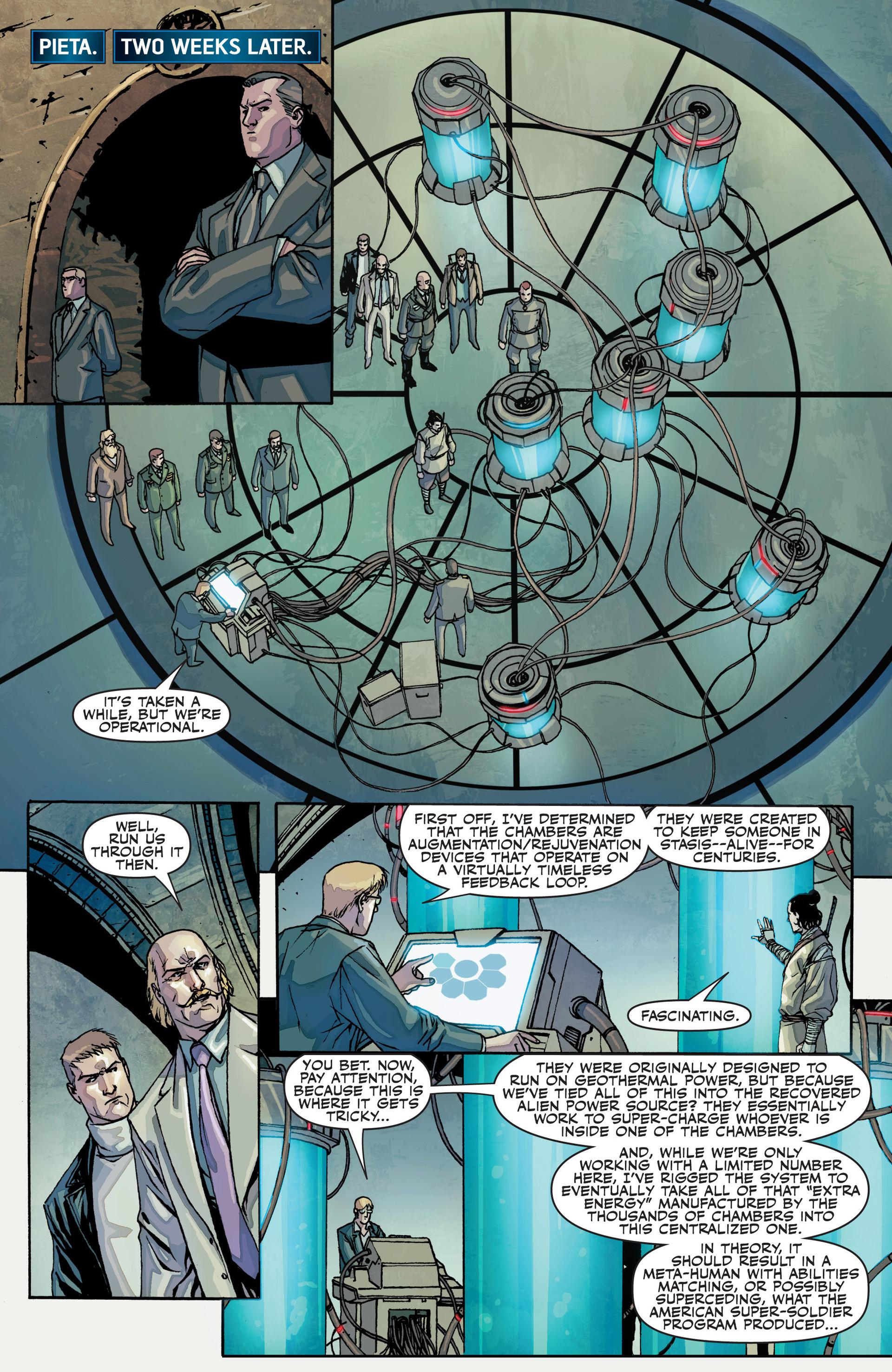 Read online Secret Warriors comic -  Issue #25 - 20