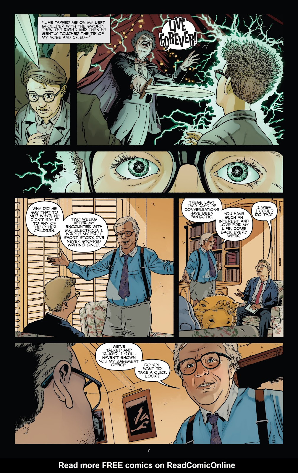Read online Shadow Show: Stories in Celebration of Ray Bradbury comic -  Issue #3 - 11