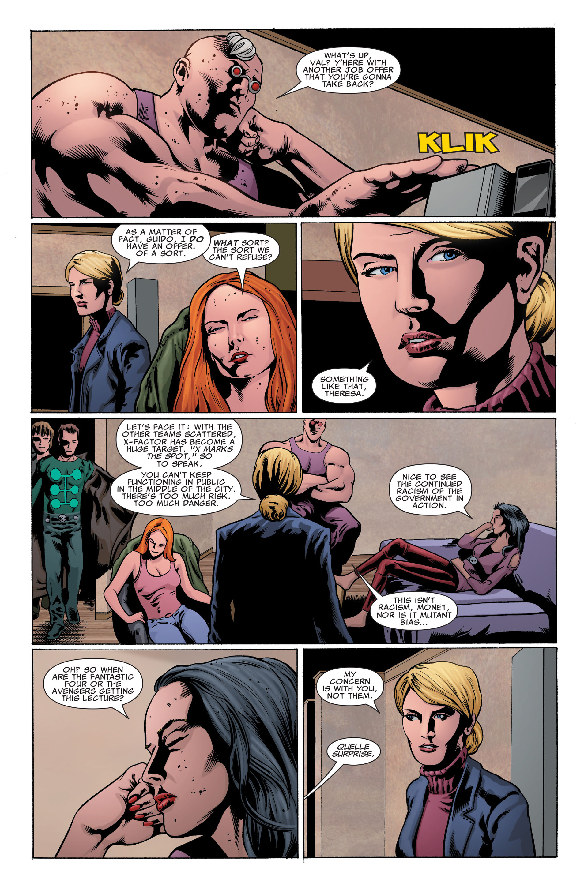 Read online X-Factor (2006) comic -  Issue #32 - 12