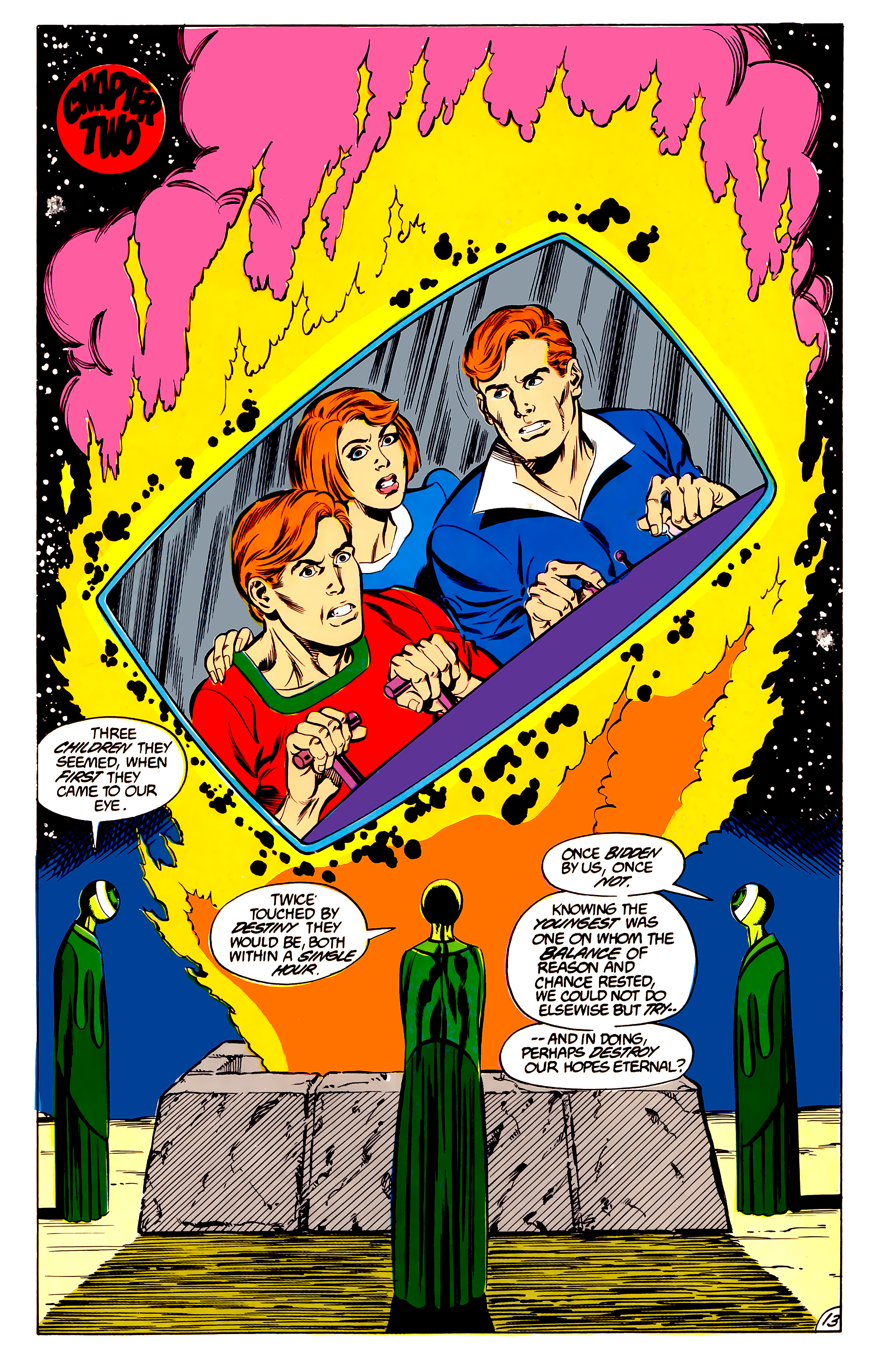 Legion of Super-Heroes (1984) 45 Page 13