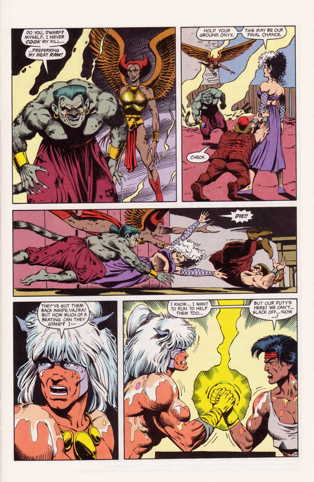 Read online Advanced Dungeons & Dragons comic -  Issue #33 - 20