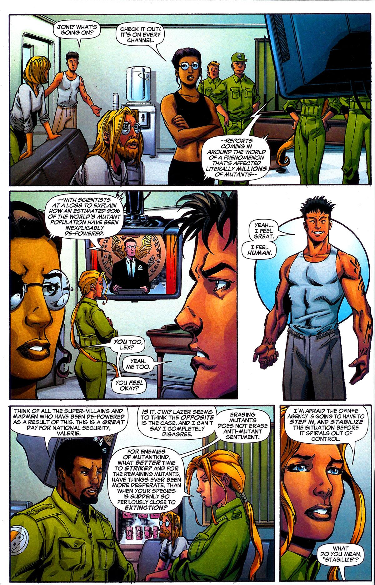 Read online Sentinel Squad O*N*E comic -  Issue #5 - 20