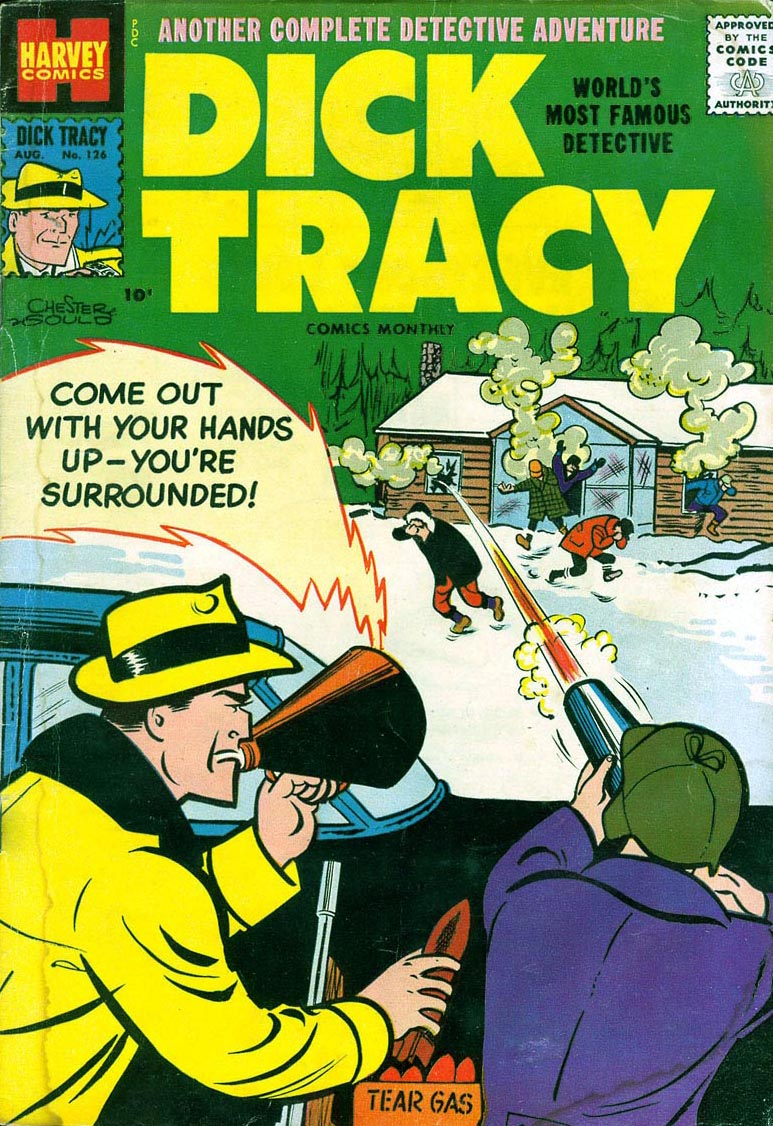 Dick Tracy (1950) 126 Page 1