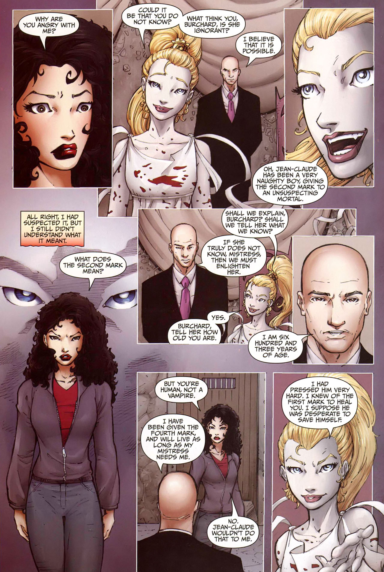 Read online Anita Blake, Vampire Hunter: Guilty Pleasures comic -  Issue #9 - 21