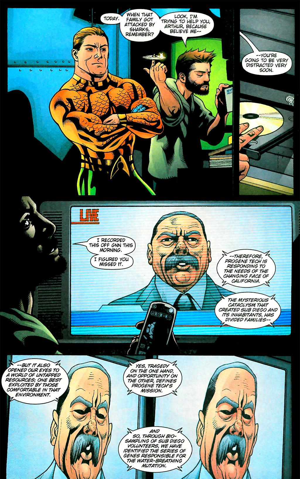 Read online Aquaman (2003) comic -  Issue #28 - 22