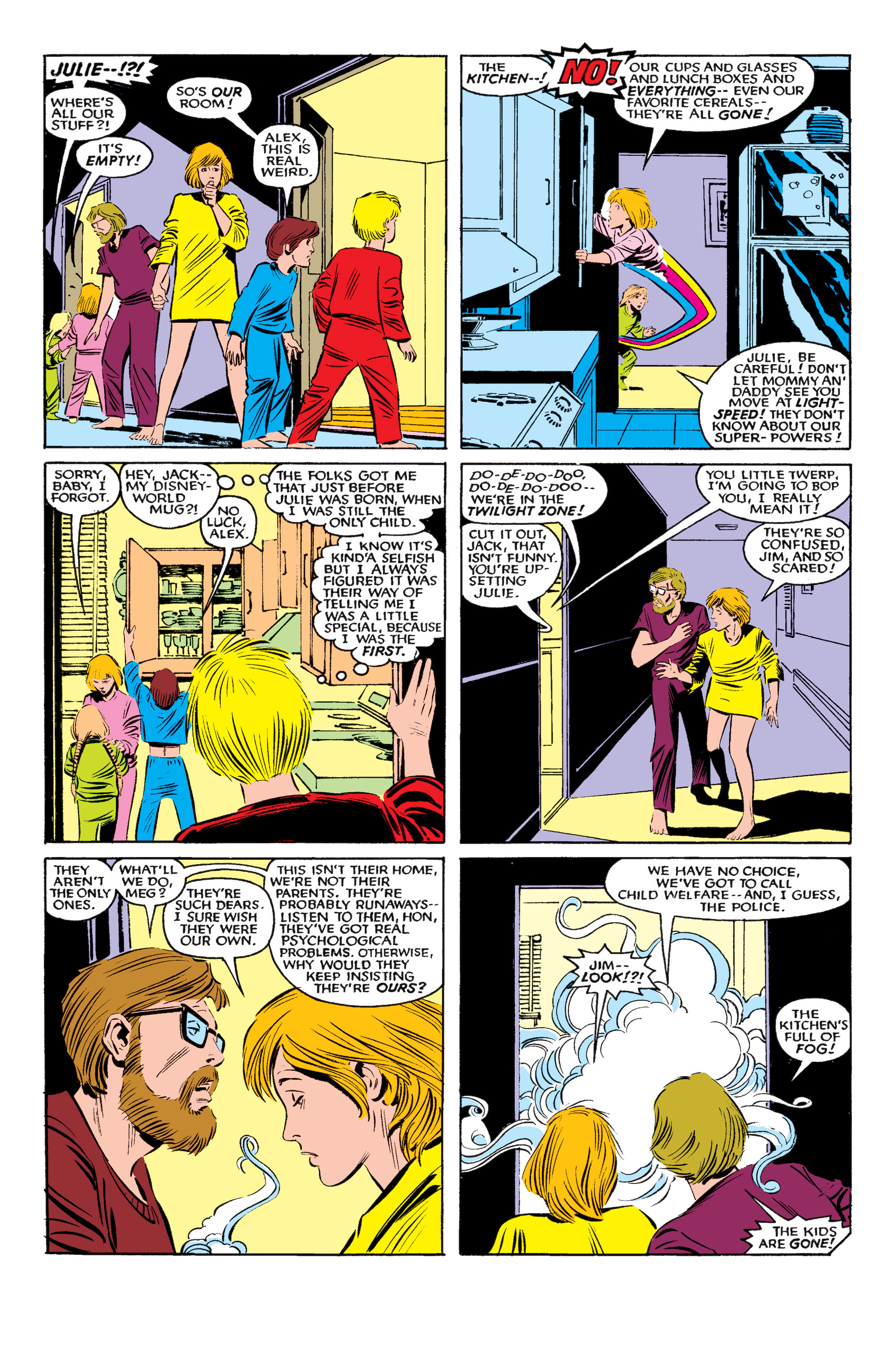 Read online Uncanny X-Men (1963) comic -  Issue #195 - 5