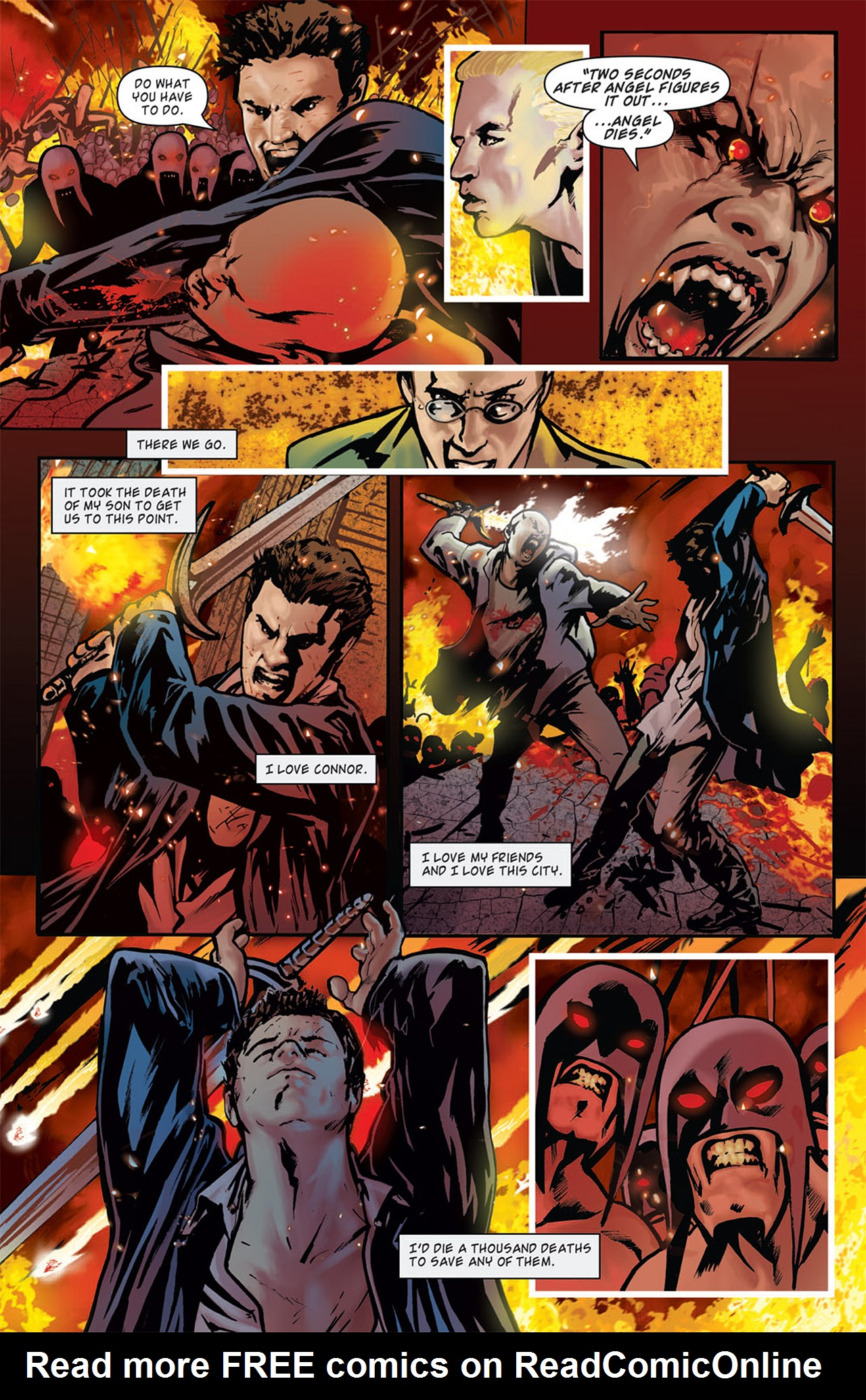 Read online Angel: After The Fall comic -  Issue #16 - 11