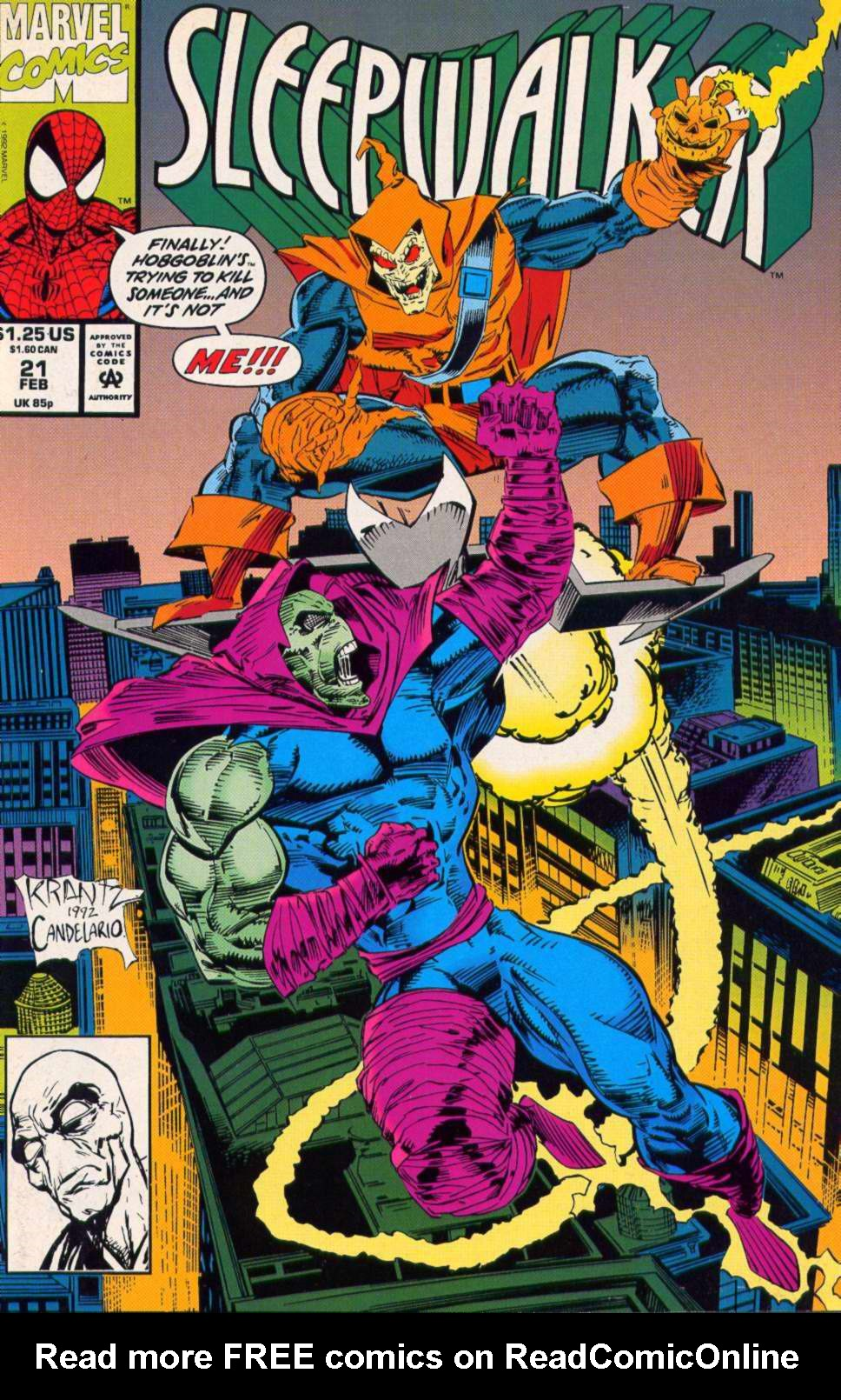 Read online Sleepwalker comic -  Issue #21 - 1