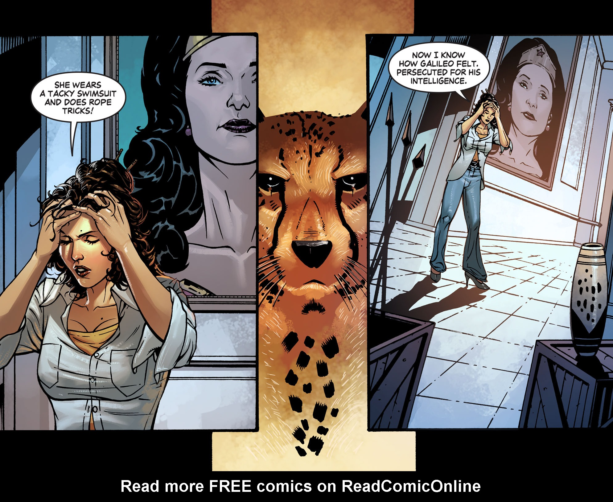 Read online Wonder Woman '77 [I] comic -  Issue #7 - 16