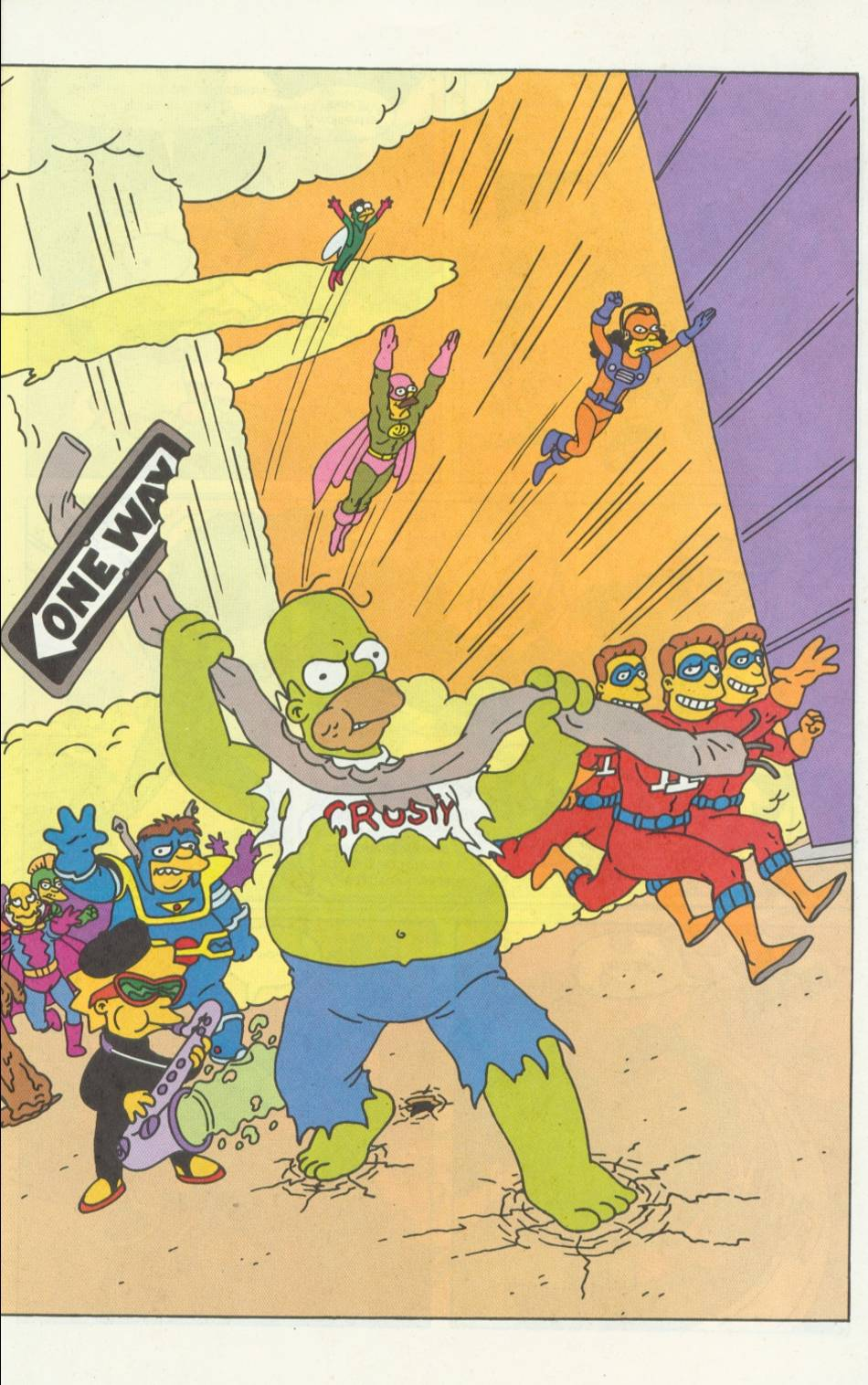 Read online Simpsons Comics comic -  Issue #5 - 16