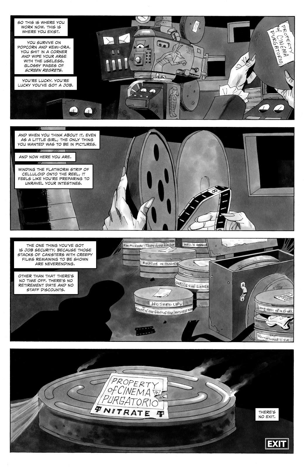 Read online Alan Moore's Cinema Purgatorio comic -  Issue #18 - 12
