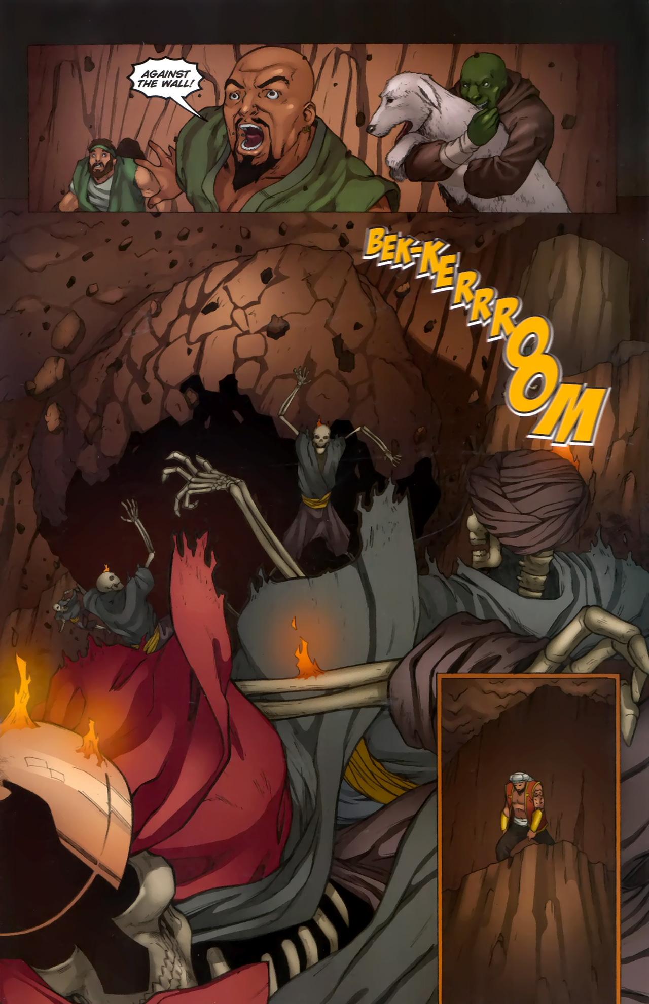 Read online 1001 Arabian Nights: The Adventures of Sinbad comic -  Issue #11 - 21