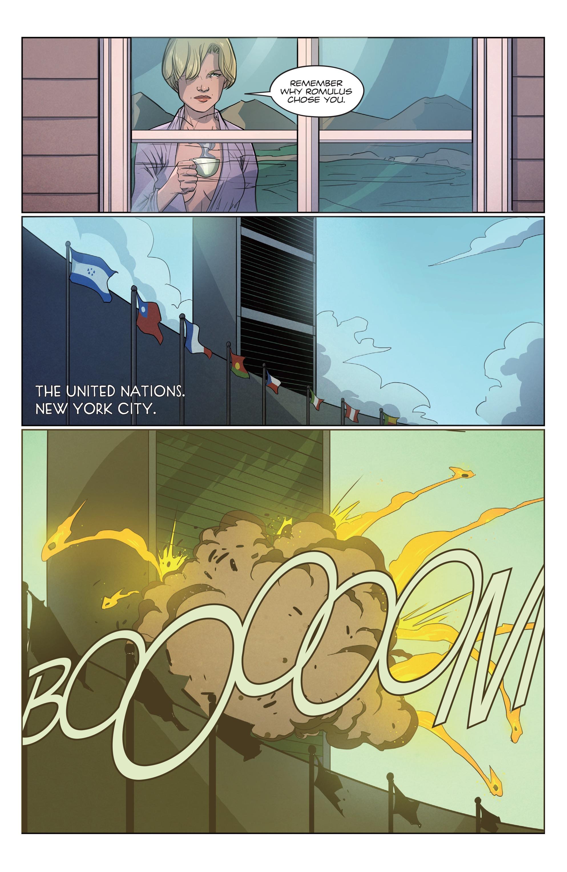 Read online Romulus comic -  Issue #4 - 21