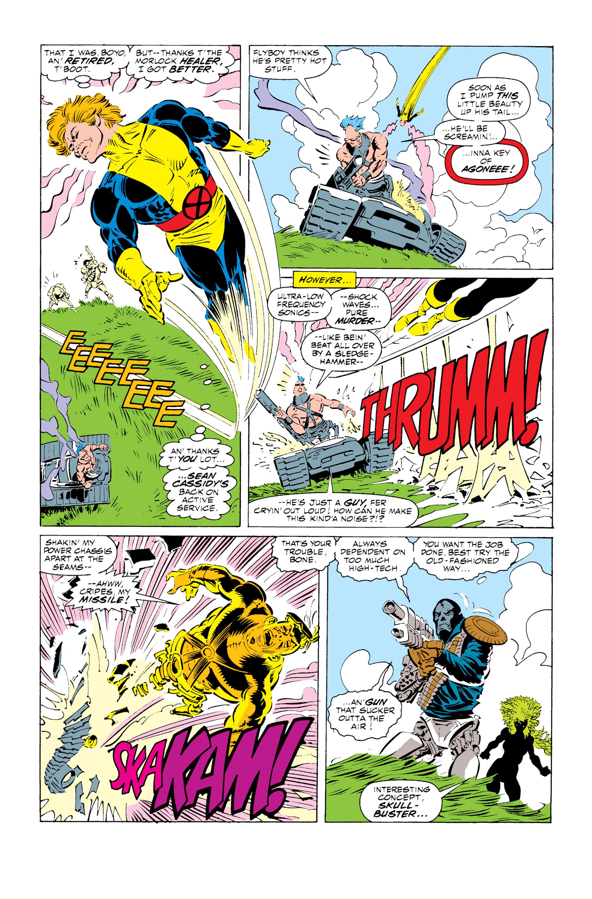Read online Uncanny X-Men (1963) comic -  Issue #255 - 3