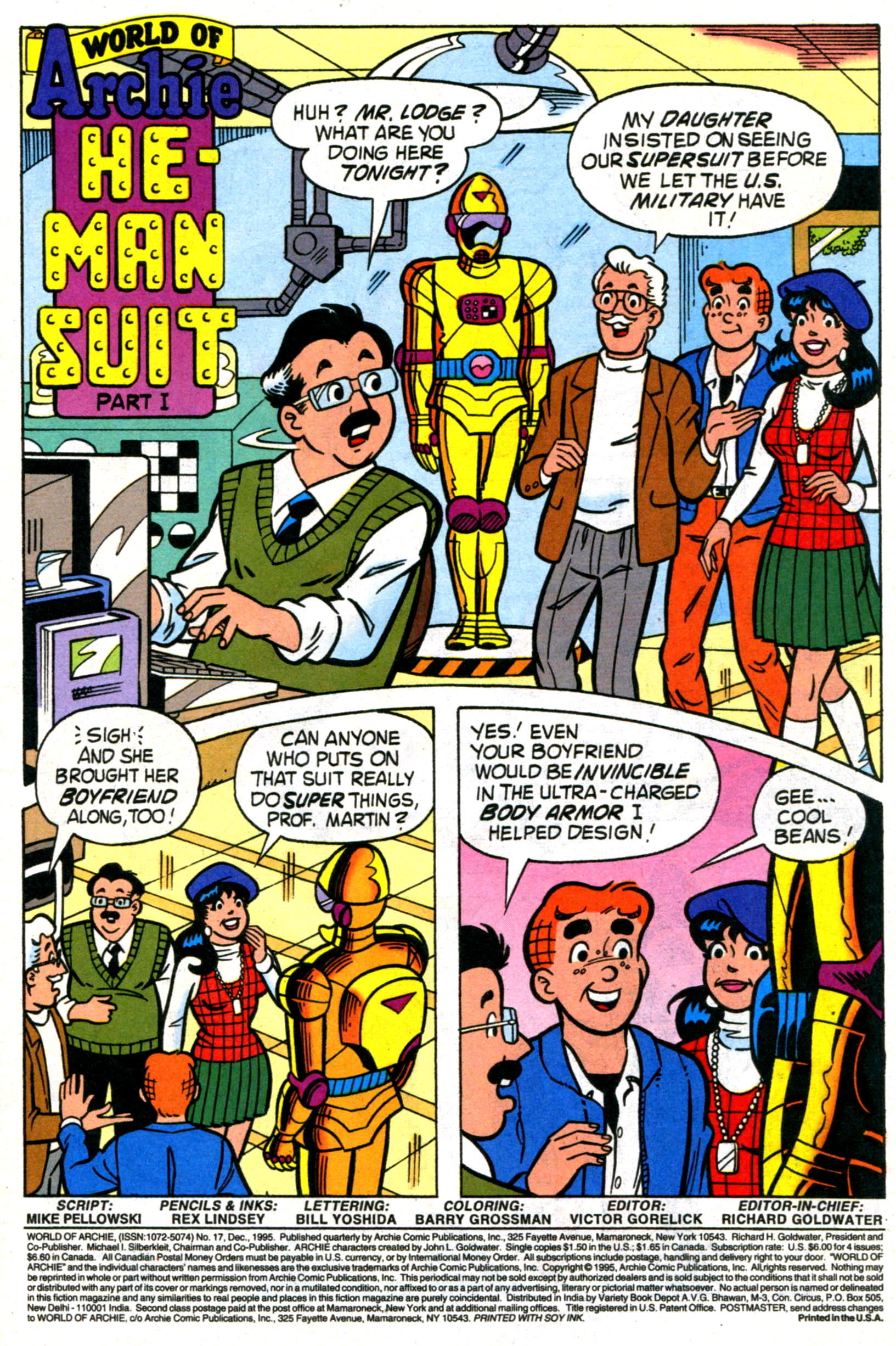 Read online World of Archie comic -  Issue #17 - 3
