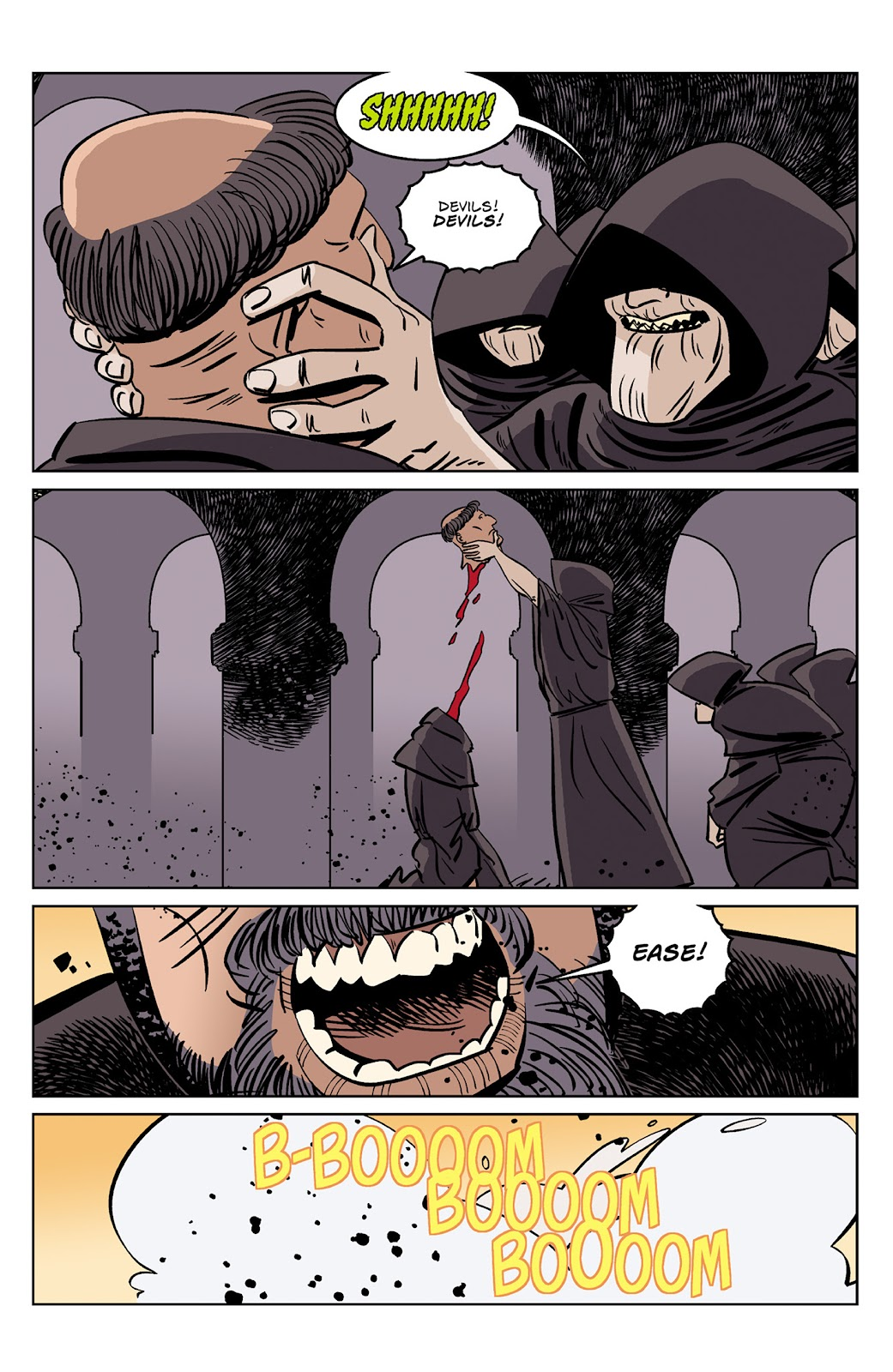 Read online Dark Ages comic -  Issue #4 - 9