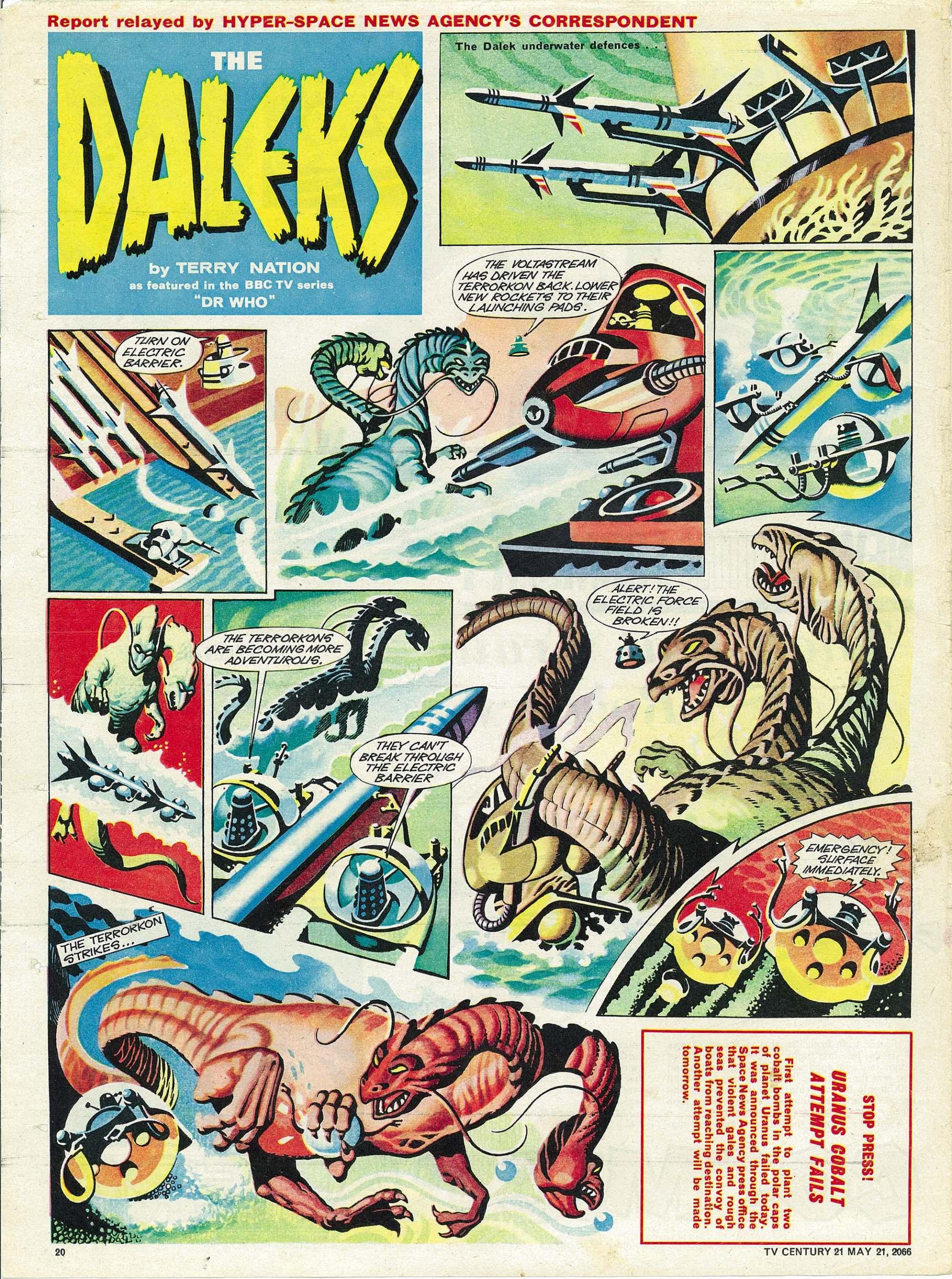 Read online TV Century 21 (TV 21) comic -  Issue #70 - 19
