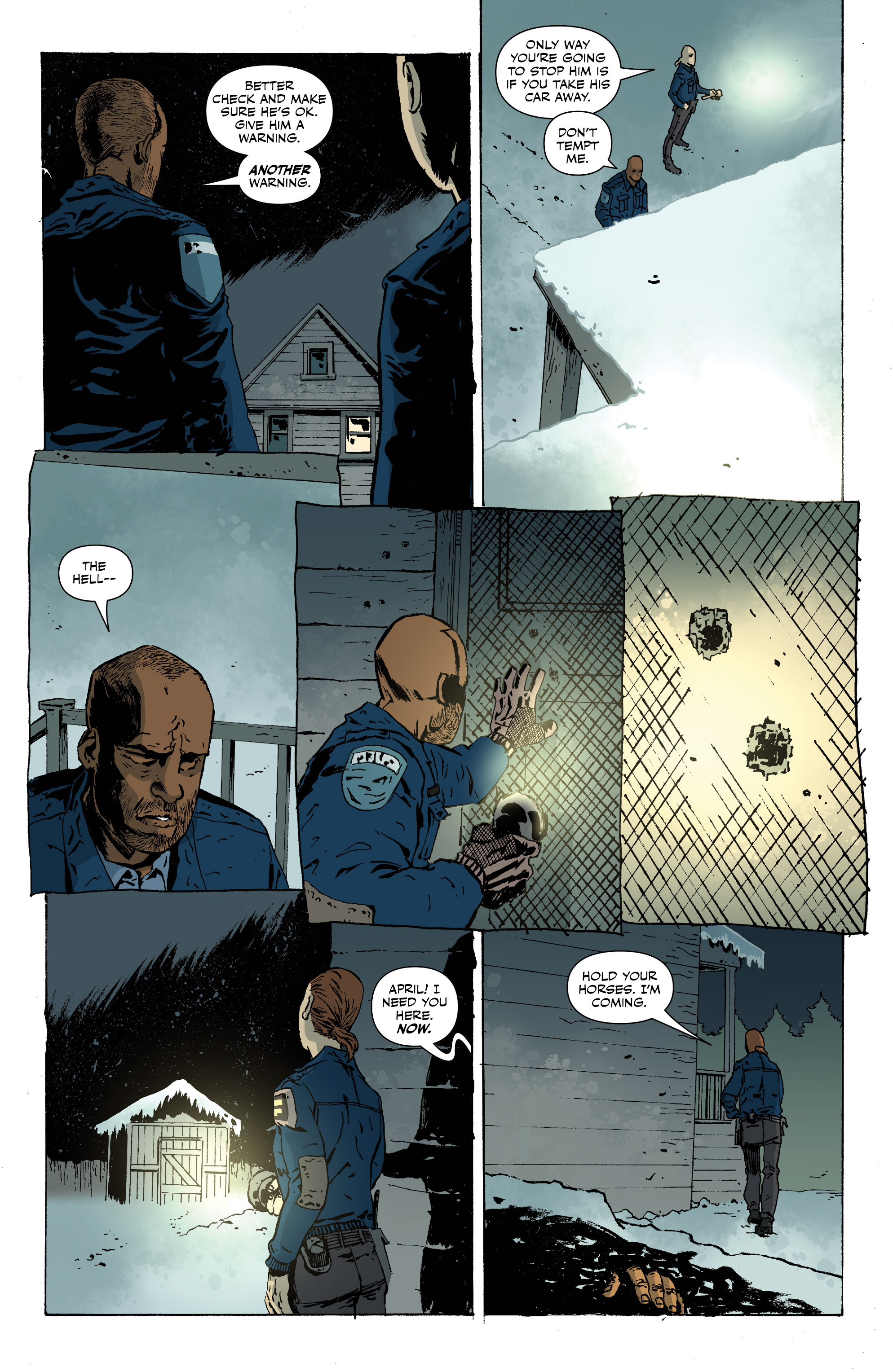 Read online Sheltered comic -  Issue #11 - 19