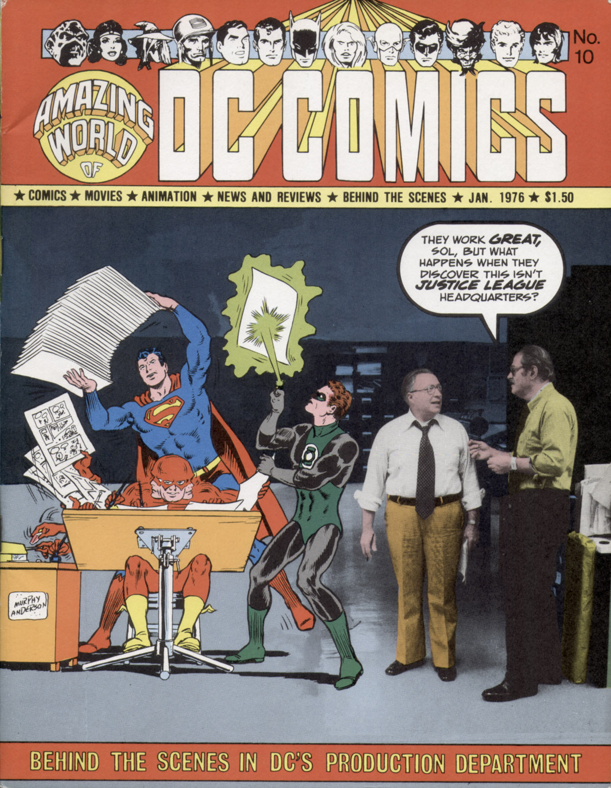 Read online Amazing World of DC Comics comic -  Issue #10 - 1