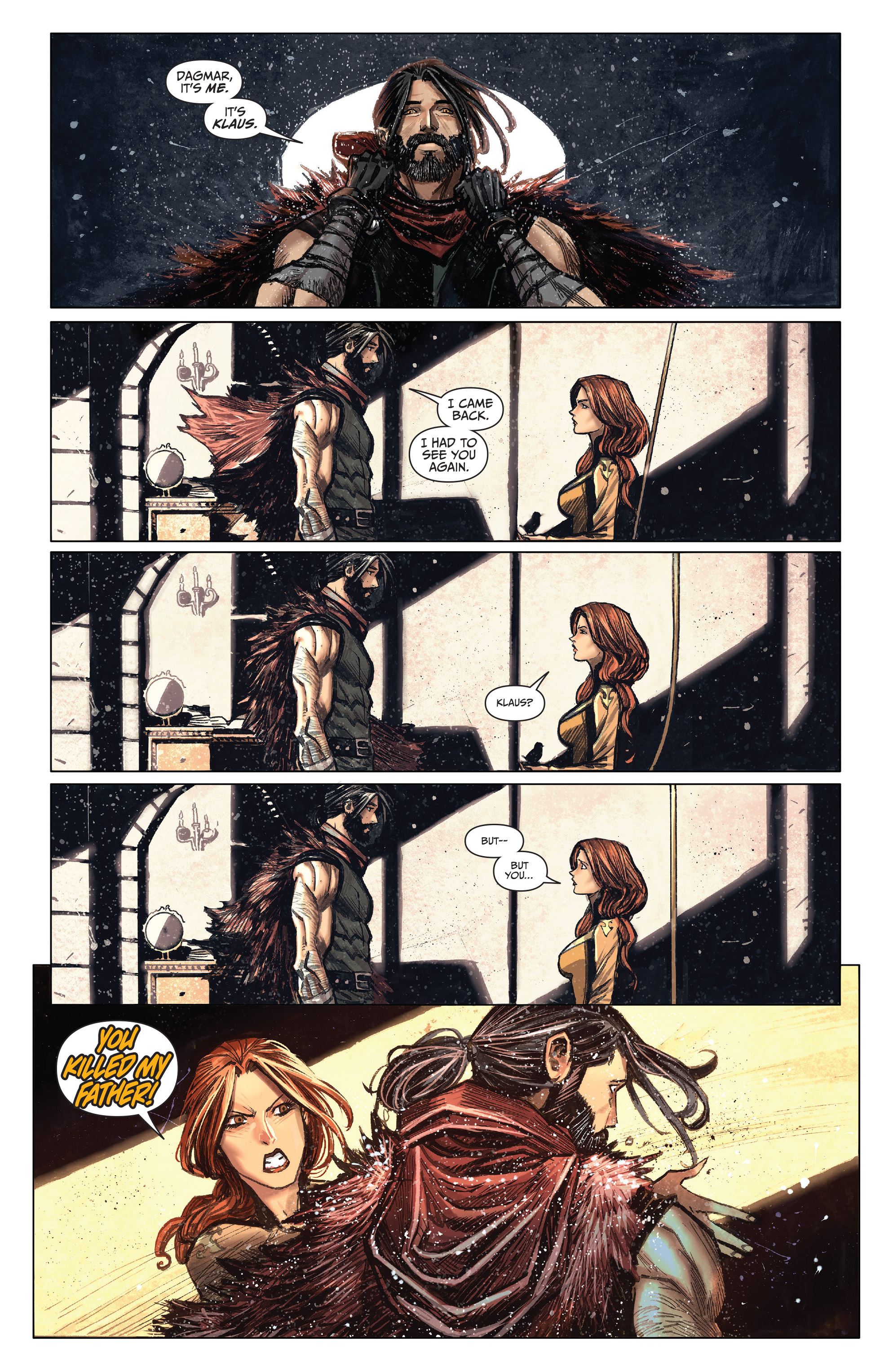 Read online Klaus comic -  Issue #4 - 11