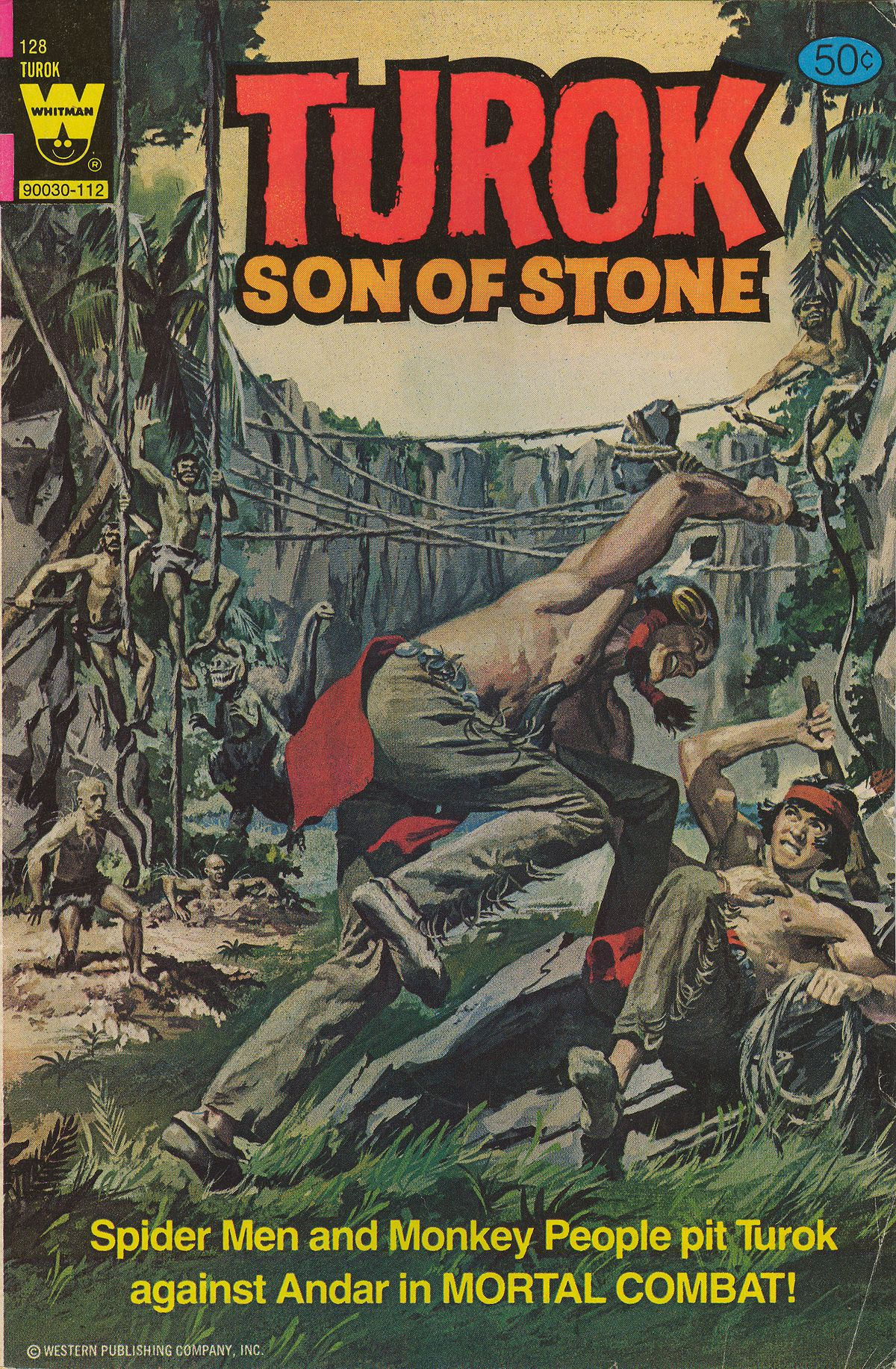 Read online Turok, Son of Stone comic -  Issue #128 - 1