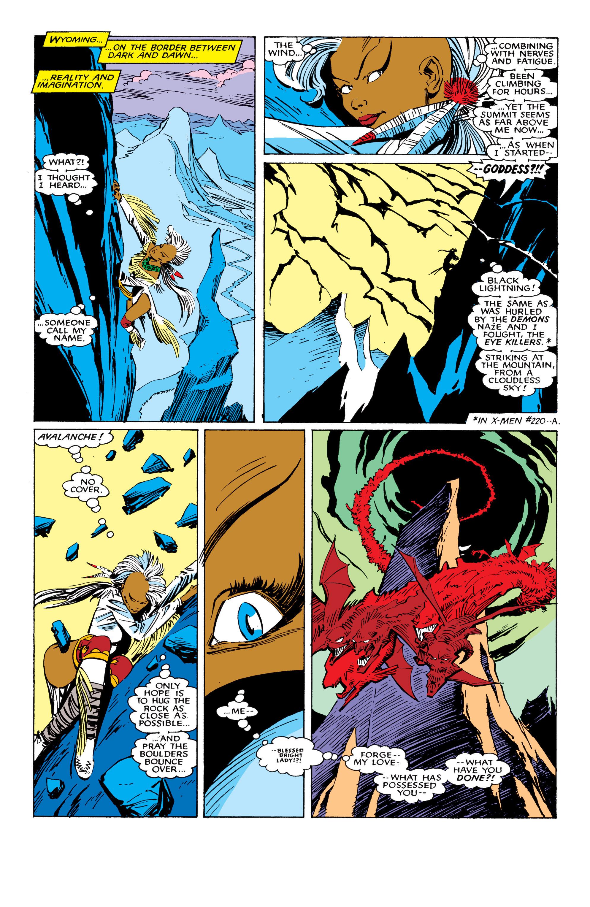 Read online Uncanny X-Men (1963) comic -  Issue #224 - 16