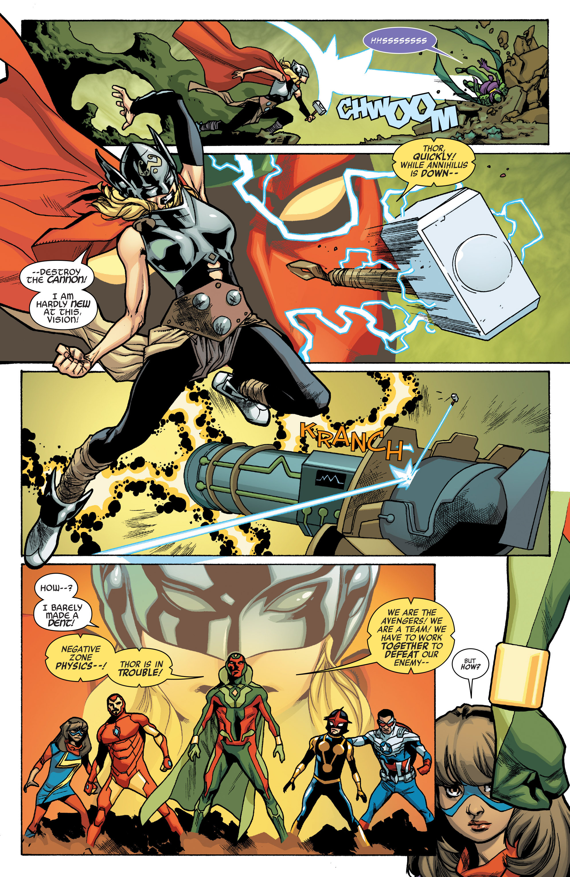 Read online All-New, All-Different Avengers comic -  Issue #12 - 8