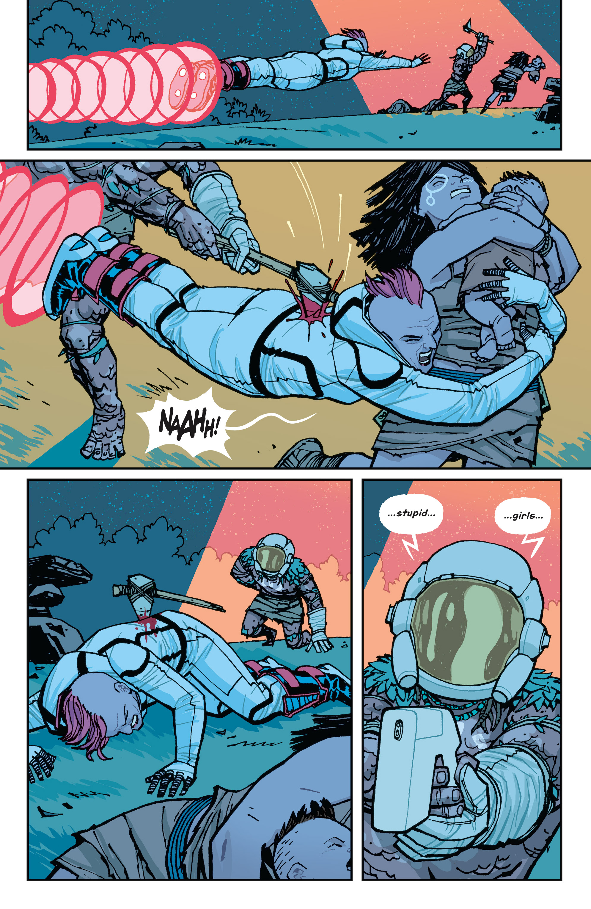 Read online Paper Girls comic -  Issue #15 - 19