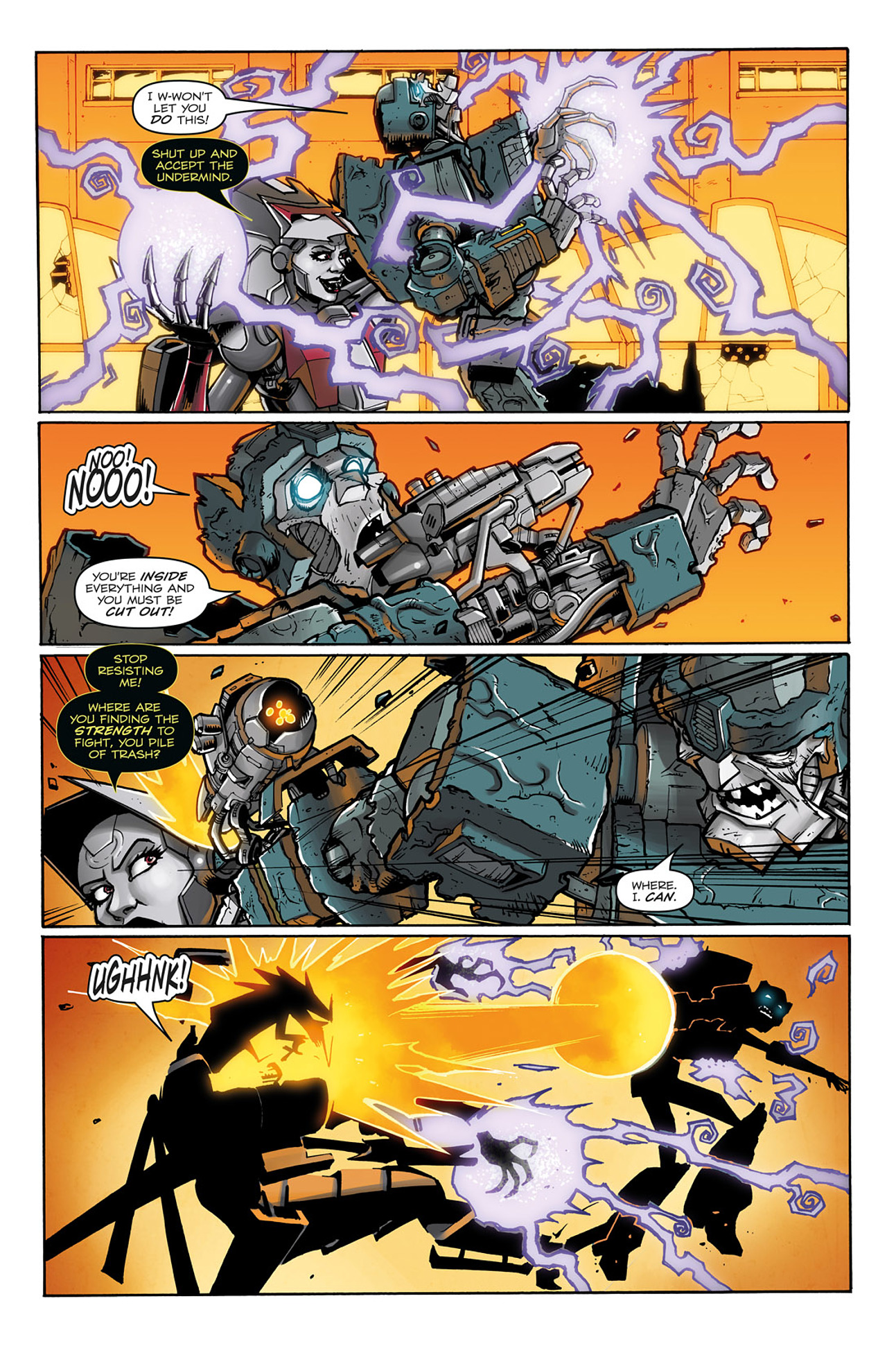 Read online Transformers: Infestation comic -  Issue #2 - 10