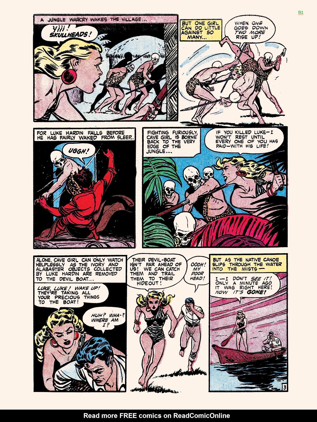 Read online Jungle Girls comic -  Issue # TPB (Part 1) - 61