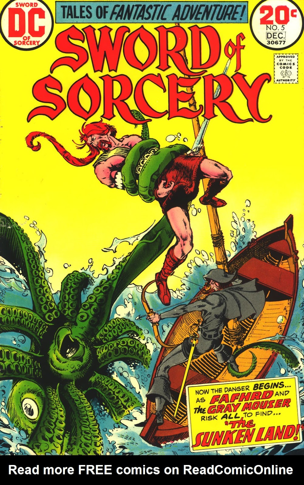 Sword of Sorcery (1973) 5 Page 1