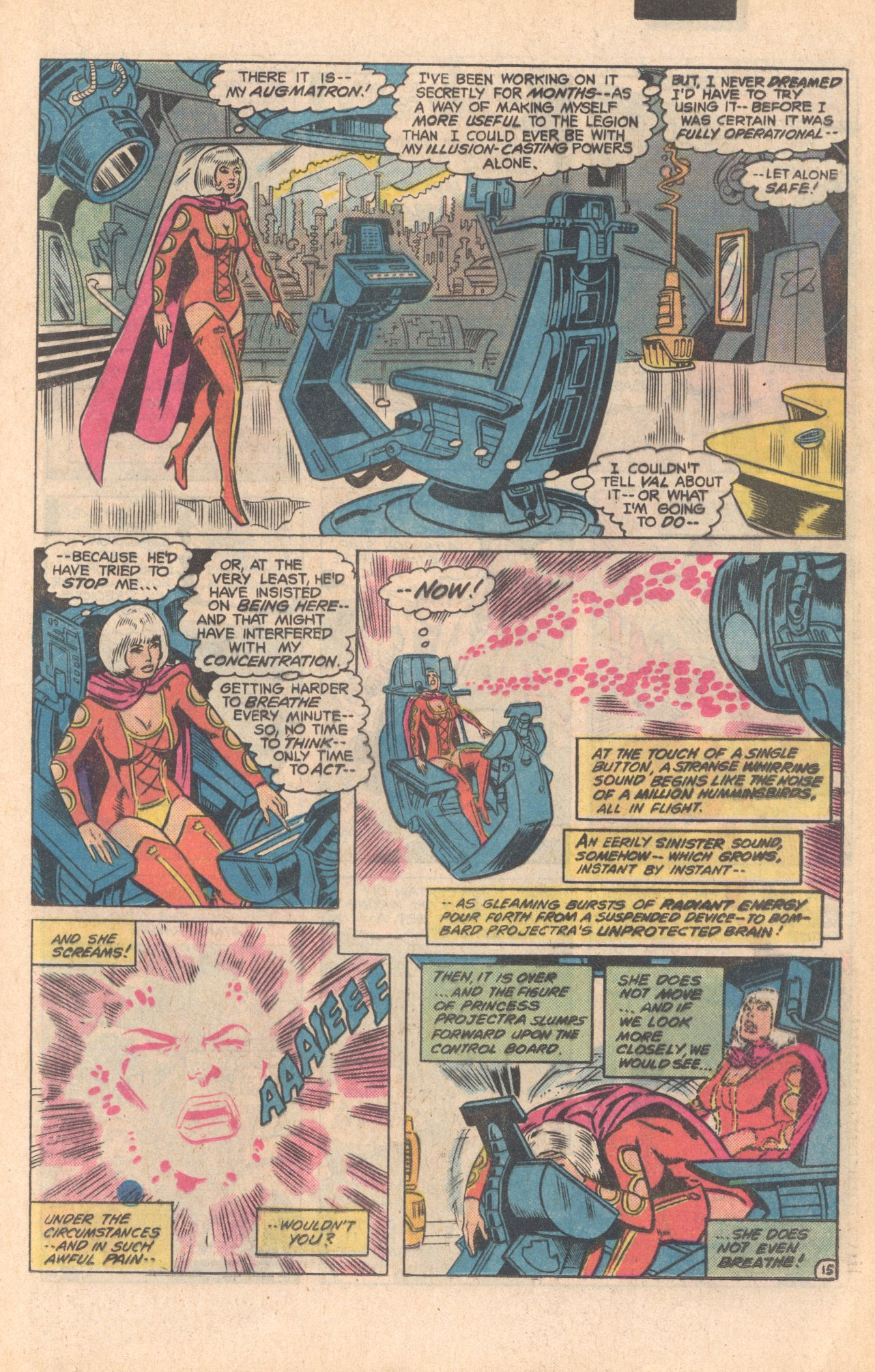 Legion of Super-Heroes (1980) 279 Page 15