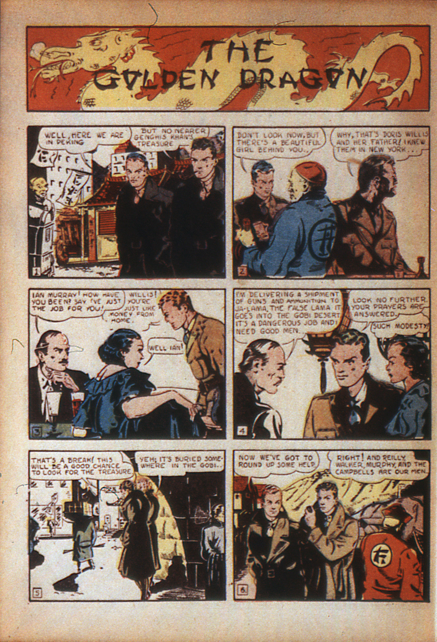 Read online Adventure Comics (1938) comic -  Issue #7 - 42