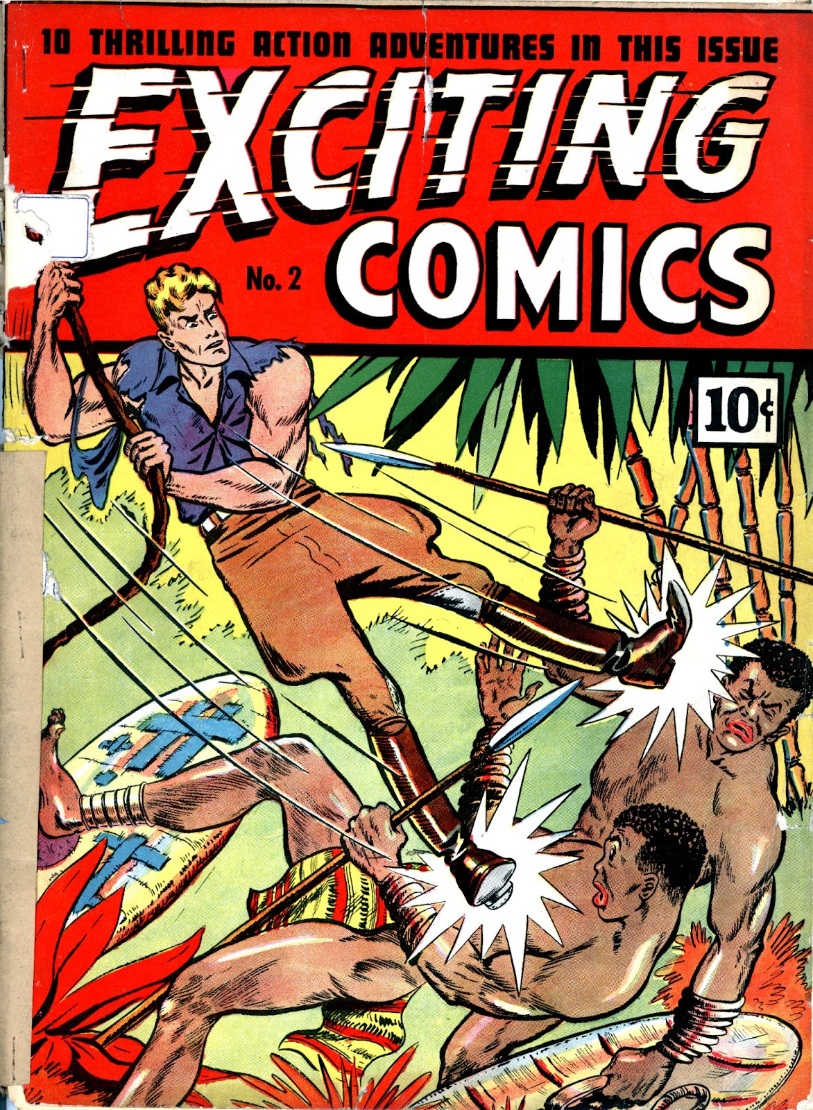 Exciting Comics (1940) issue 2 - Page 1