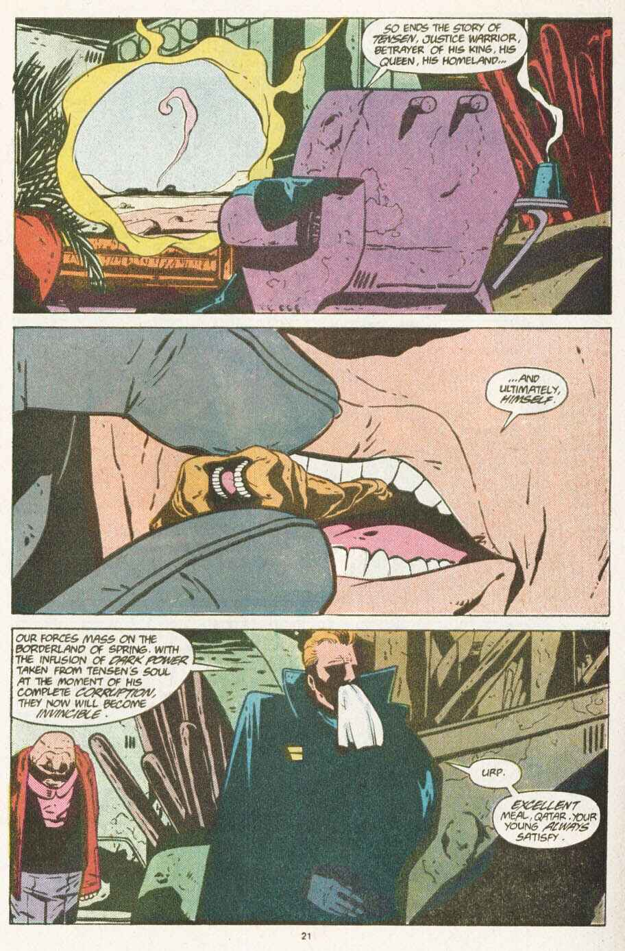 Read online Justice (1986) comic -  Issue #10 - 22
