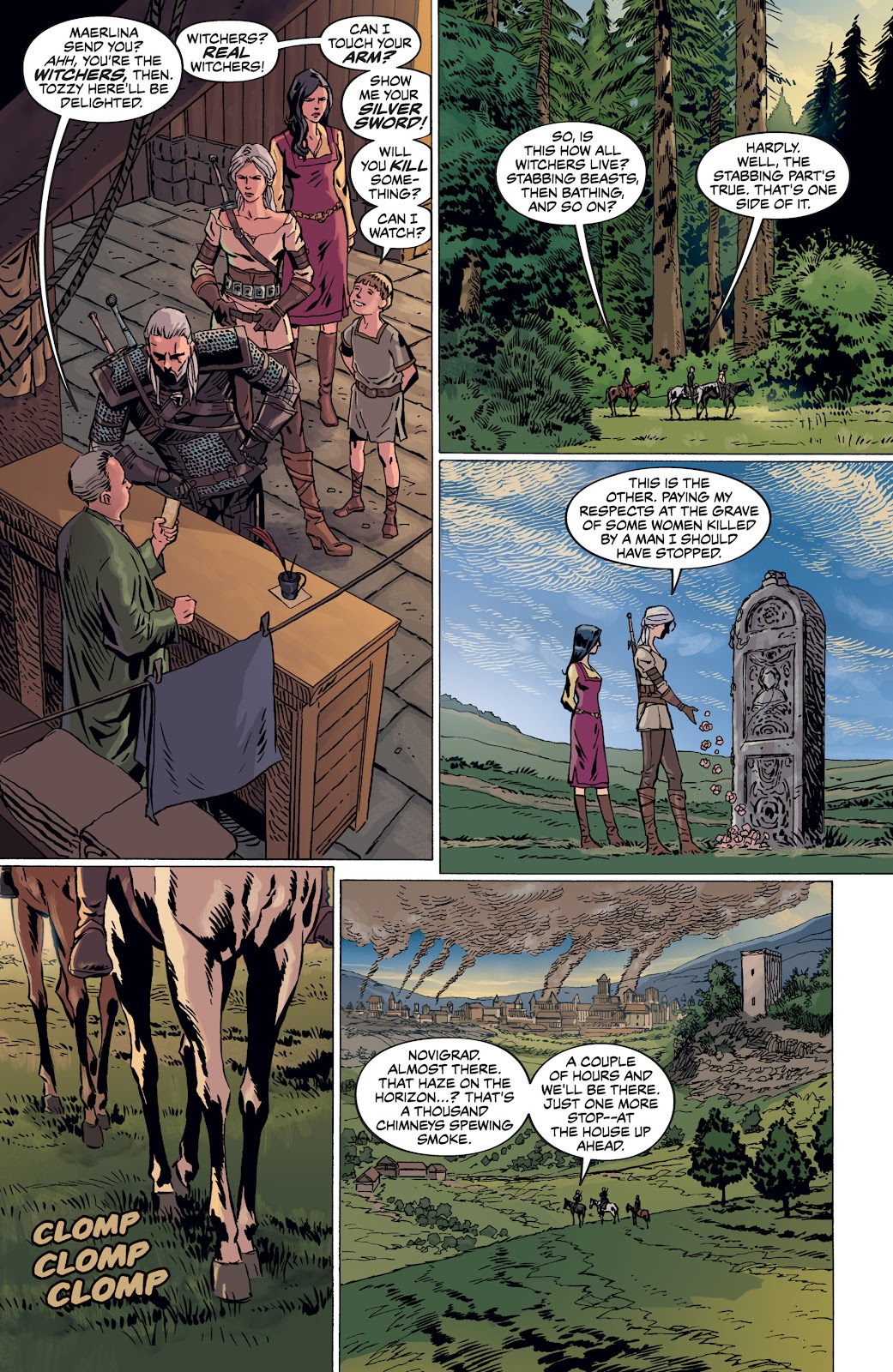 Read online The Witcher Omnibus comic -  Issue # TPB (Part 4) - 17