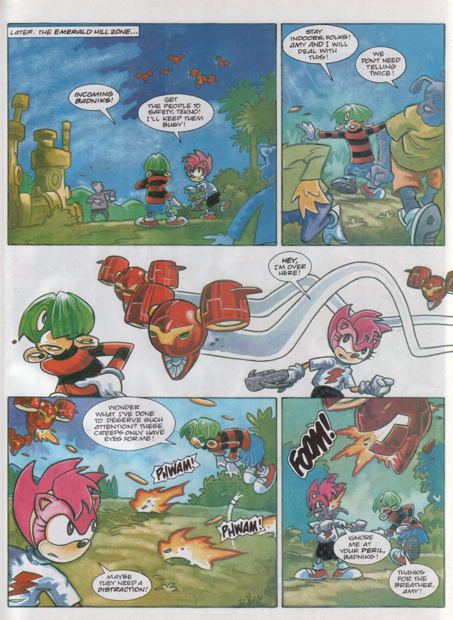 Read online Sonic the Comic comic -  Issue #118 - 22