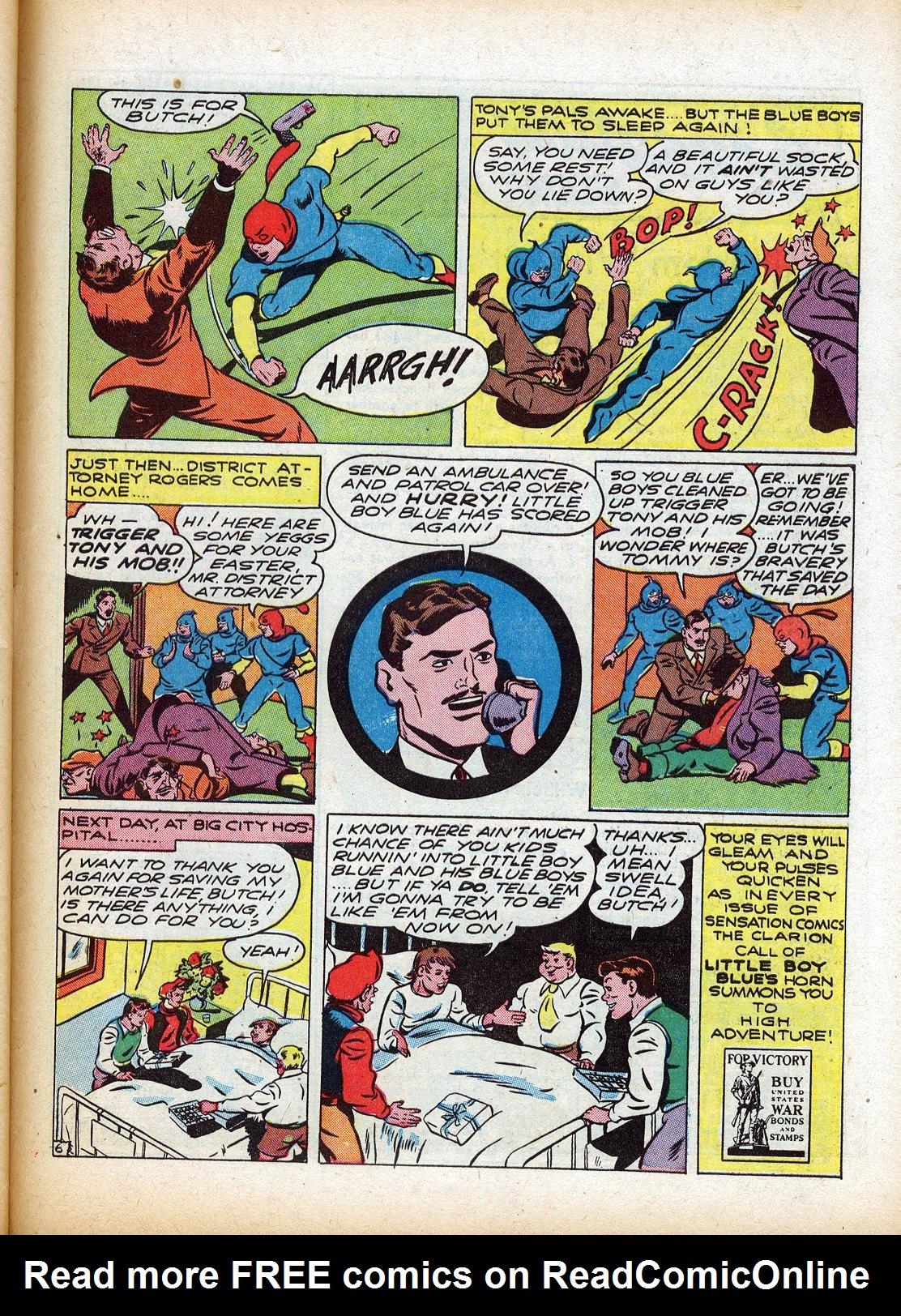 Read online Sensation (Mystery) Comics comic -  Issue #18 - 47
