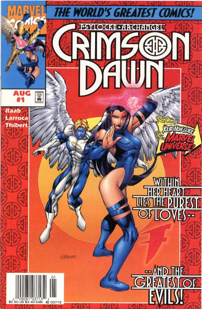 Psylocke & Archangel Crimson Dawn issue 1 - Page 1